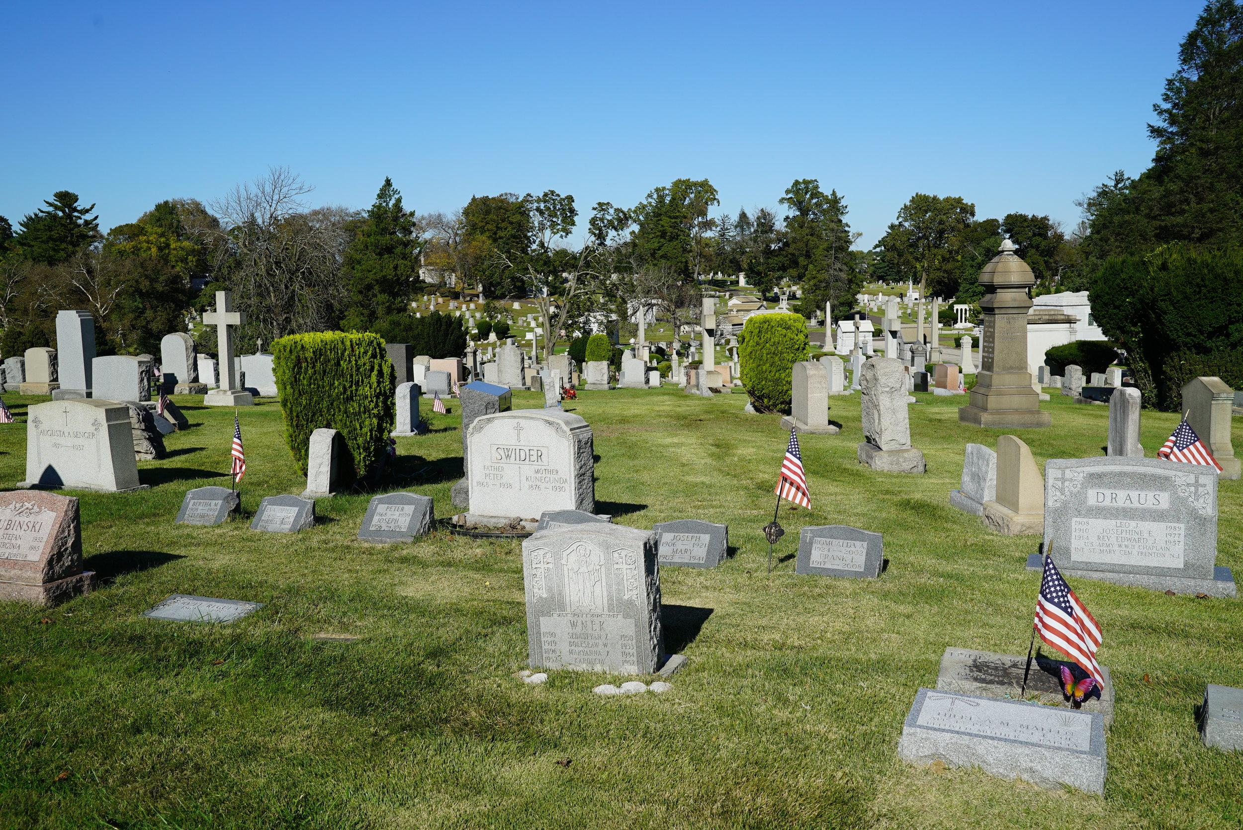 Westminster Cemetery. Bala Cynwyd, Pennsylvania.