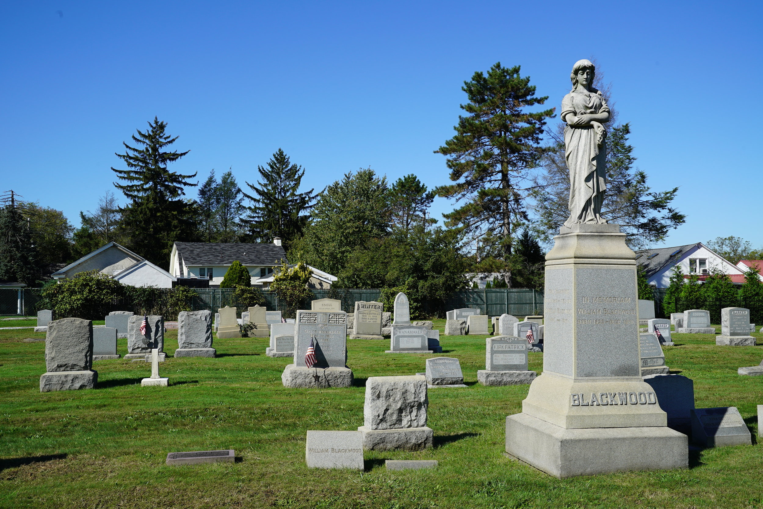 Odd Fellows Cemetery. Gladwyn, Pennsylvania.