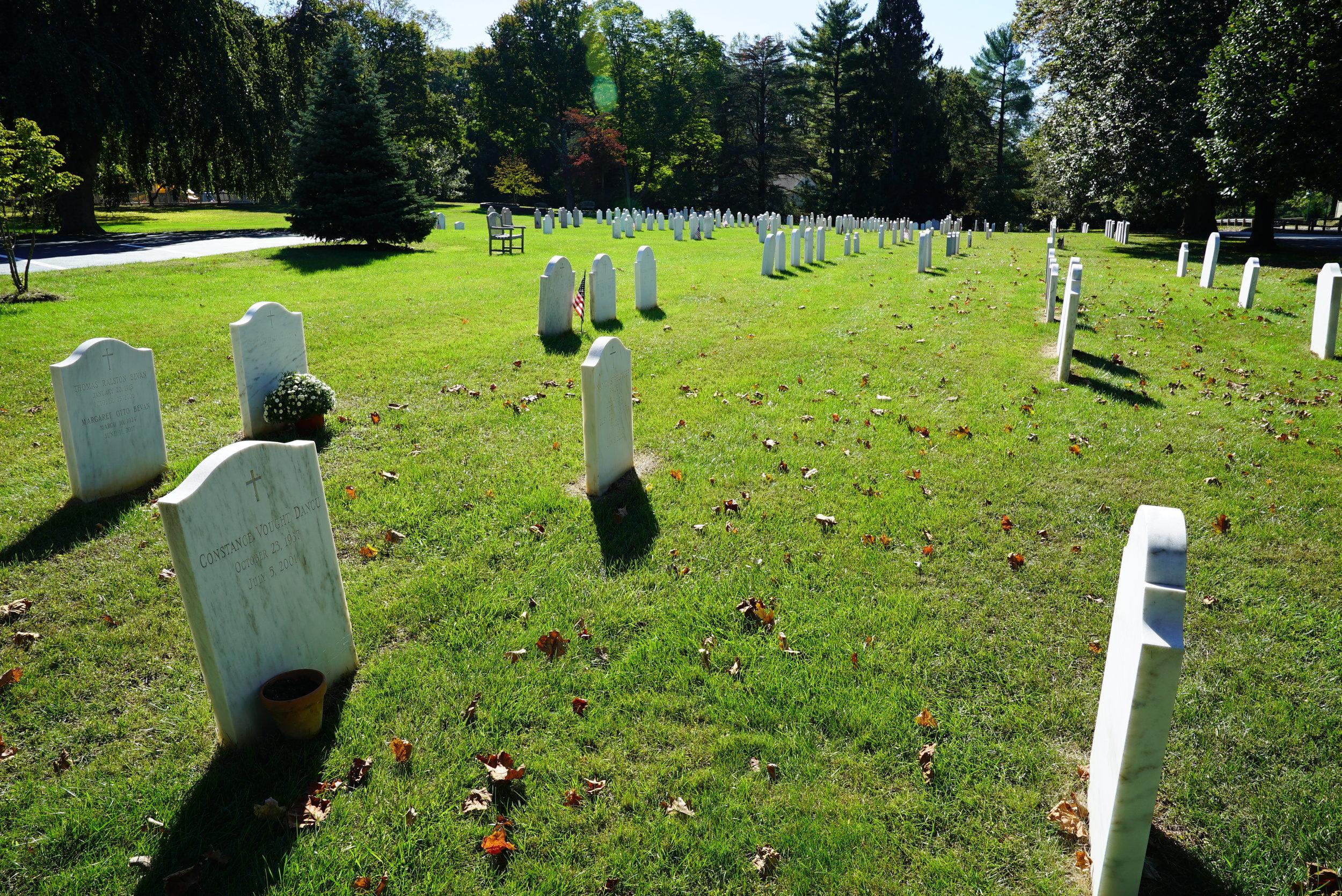 St. Christopher's Church Cemetery. Gladwyne, Pennsylvania.
