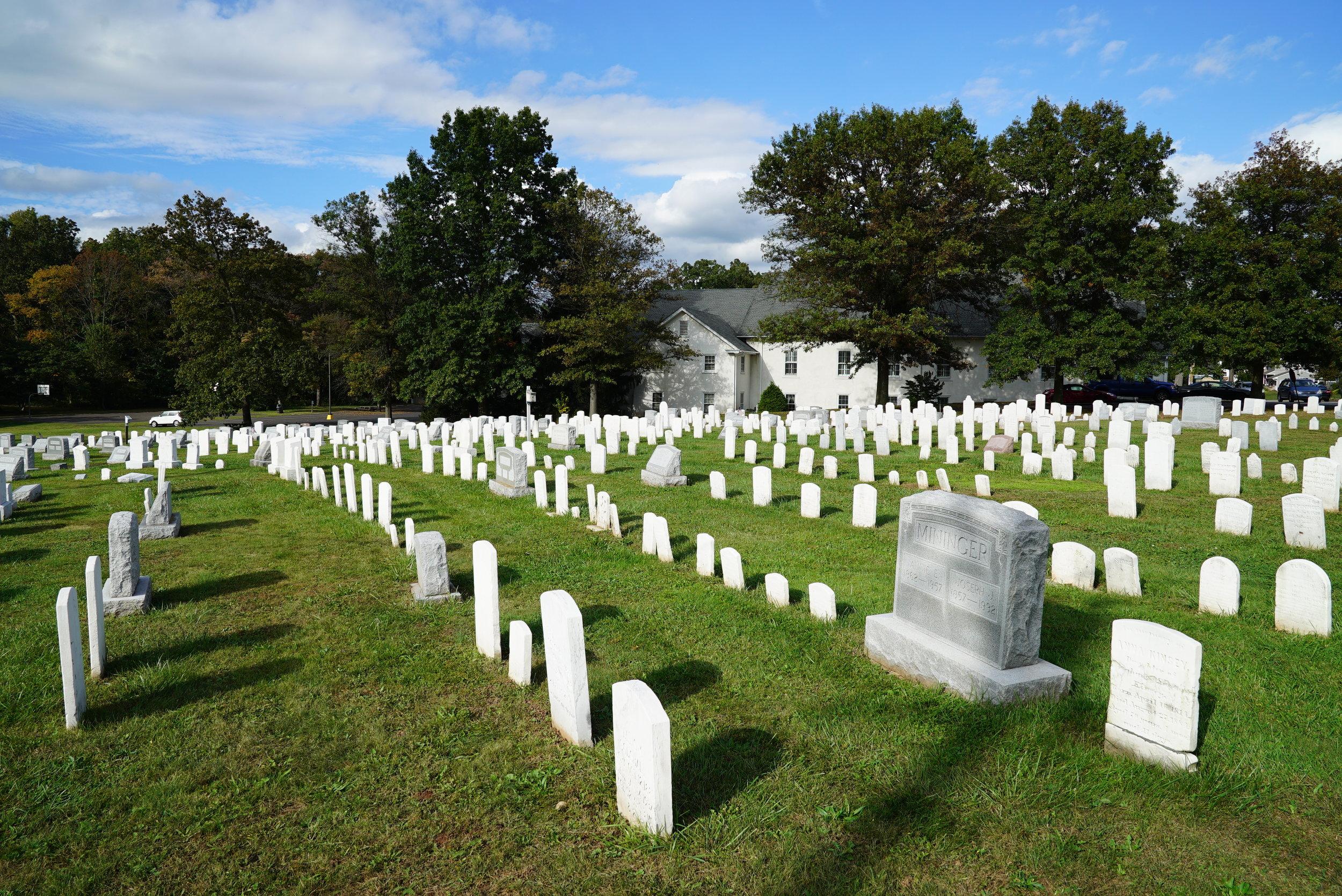 Plains Mennonite Church Cemetery. Hatfield, Pennsylvania.