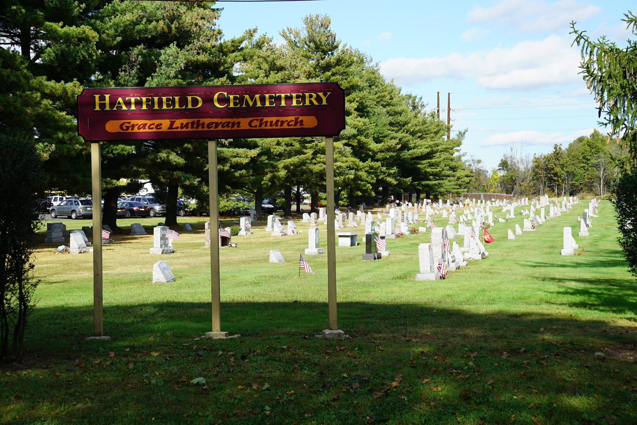 Hatfield Cemetery. Hatfield, Pennsylvania.