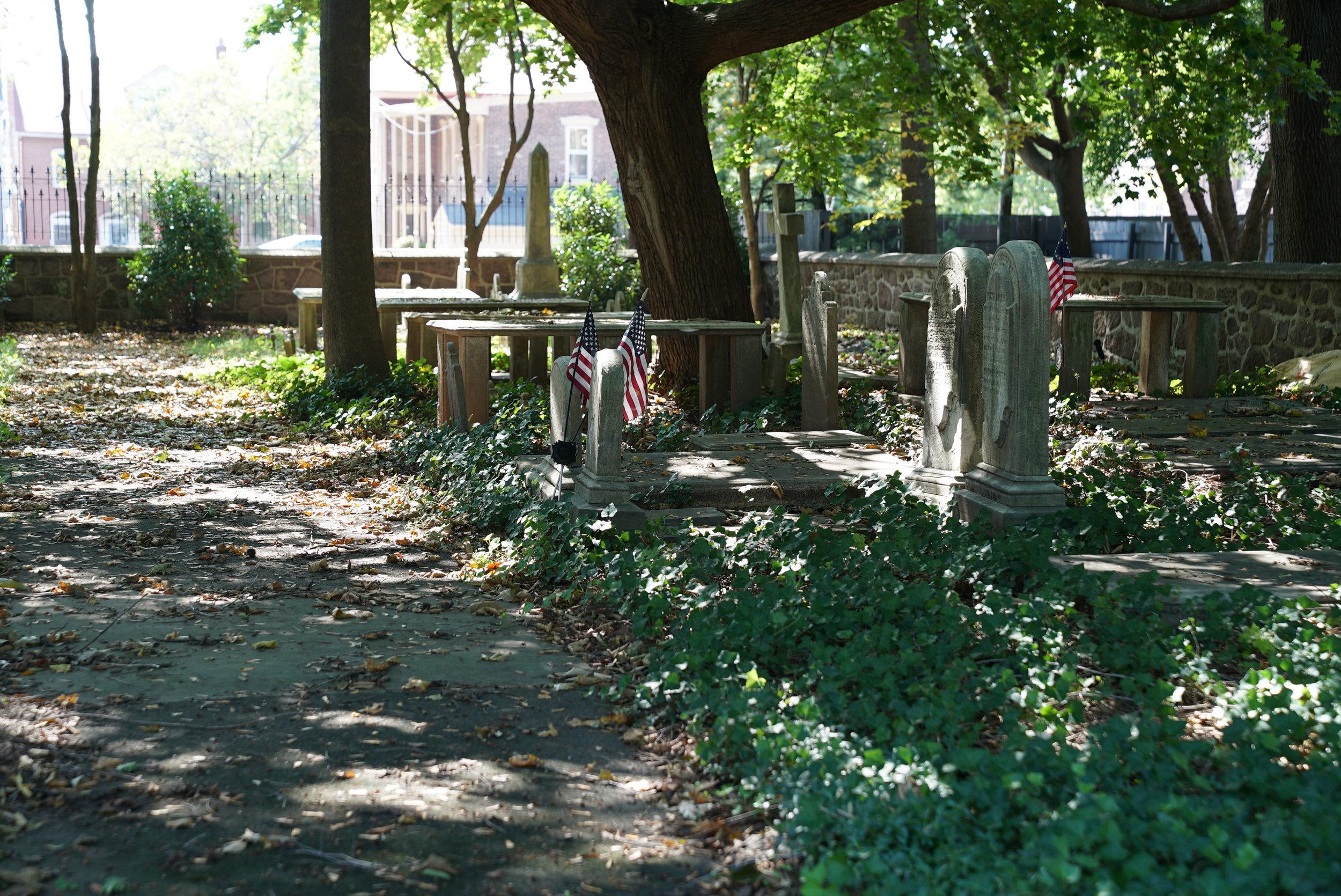 Potts Burial Ground. Pottstown, Pennsylvania.