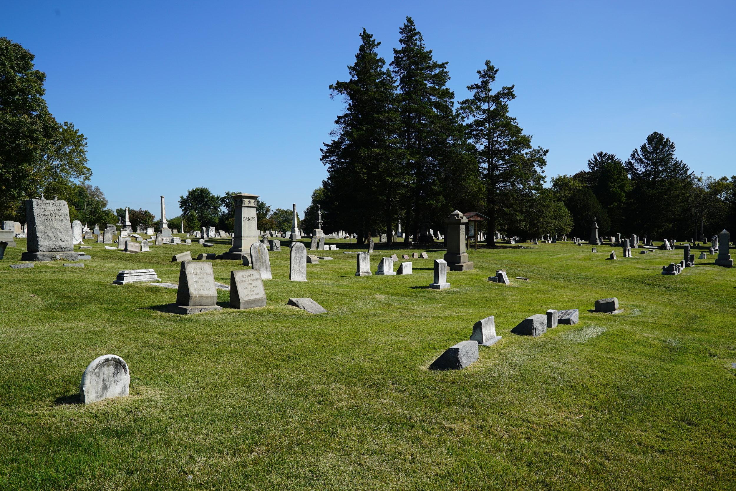 Montgomery Cemetery. West Norriton Township, Pennsylvania.