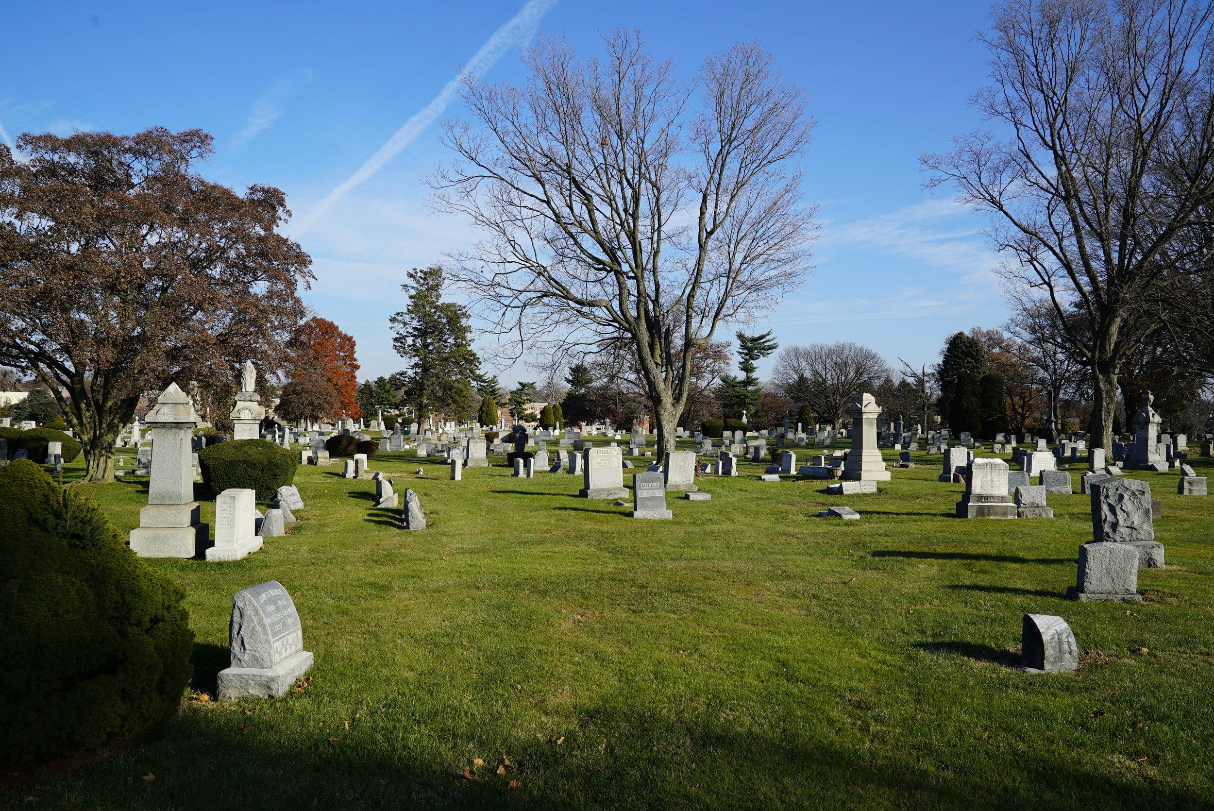 Northwood Cemetery. Philadelphia, Pennsylvania.