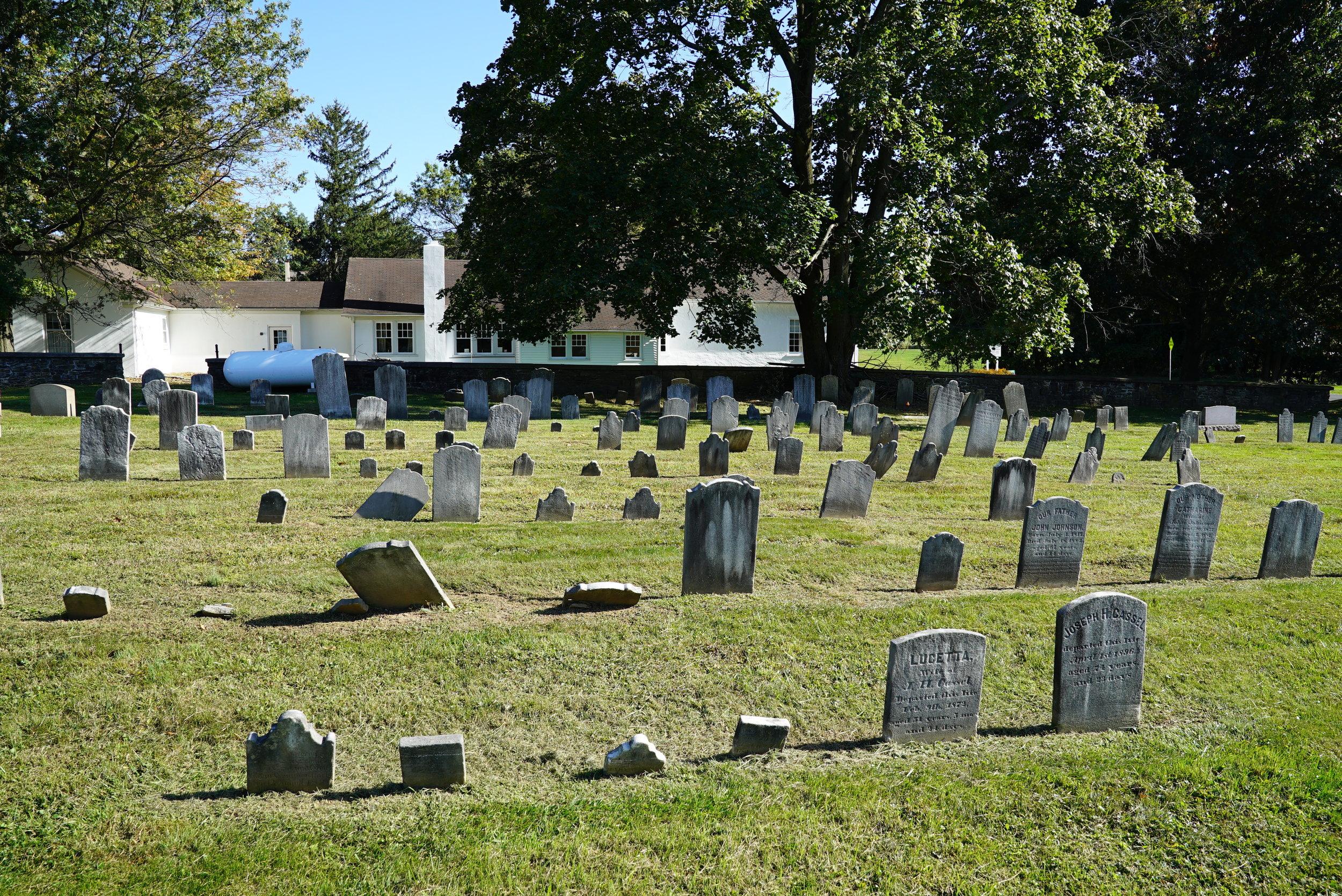 Methacton Mennonite Cemetery. Worcester Township, Montgomery County, Pennsylvania.