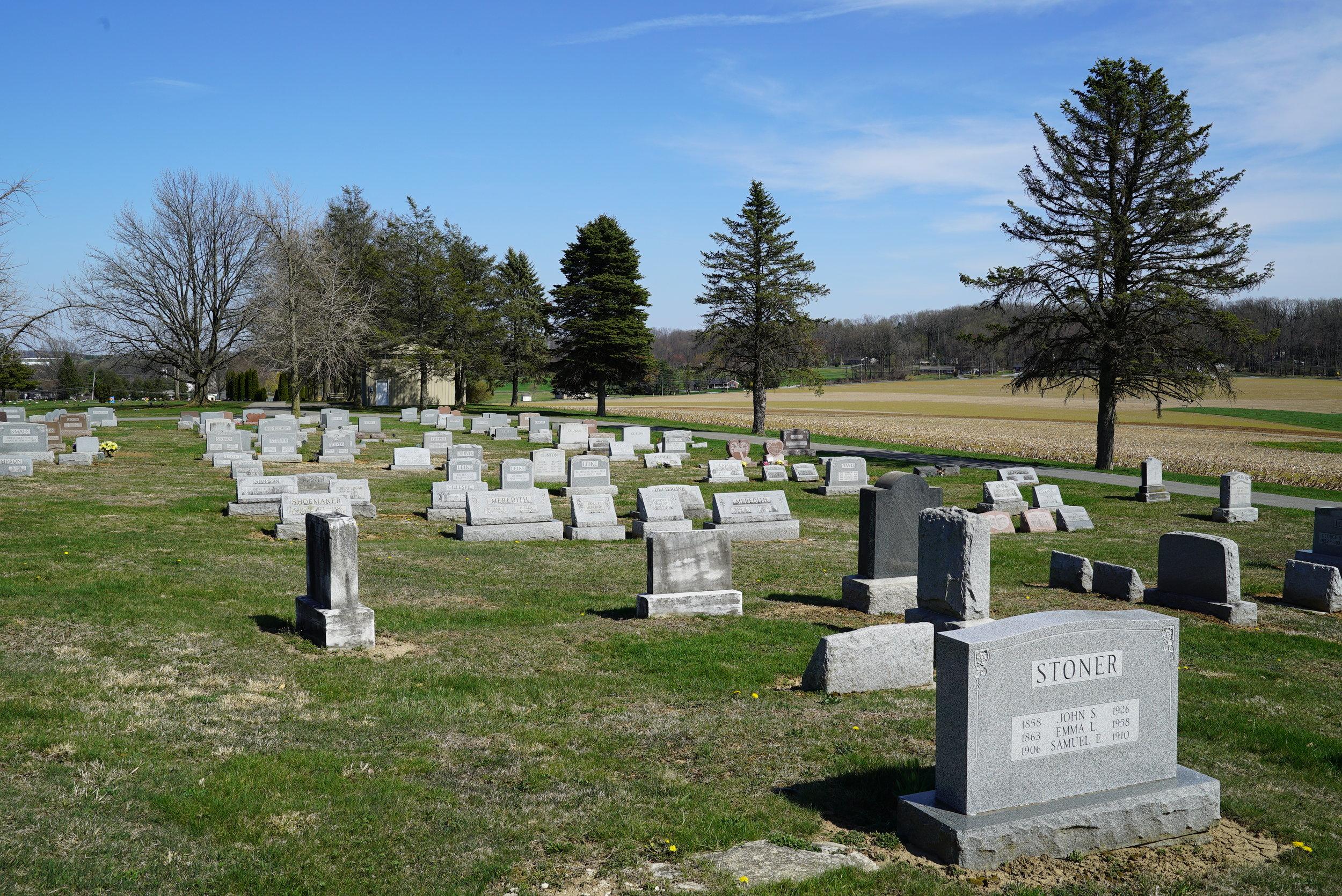 Upper Octorara Presbyterian Church Cemetery. Parkesburg, Pennsylvania.