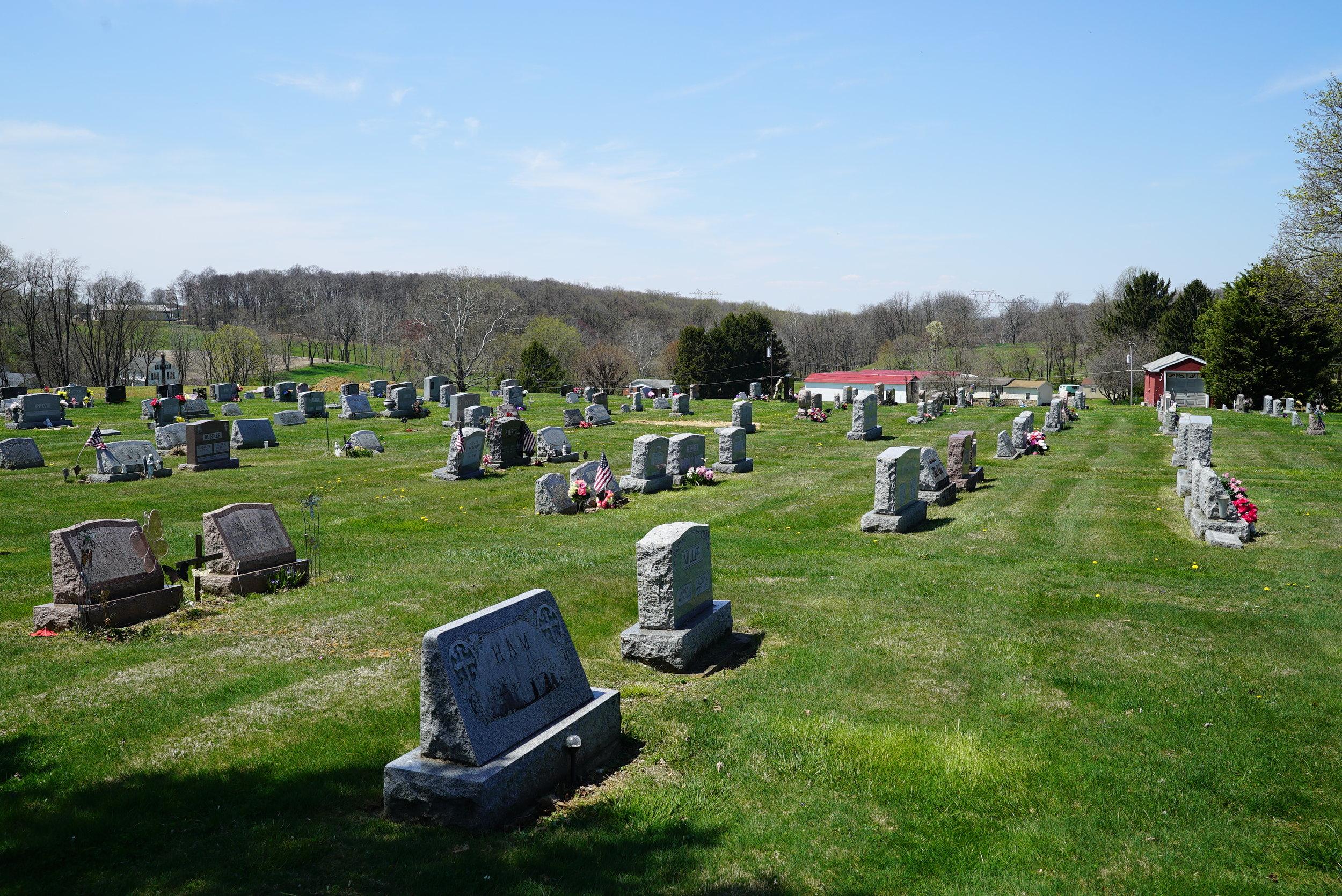 Nottingham Missionary Baptist Church Cemetery. Nottingham, Pnnsylvania.