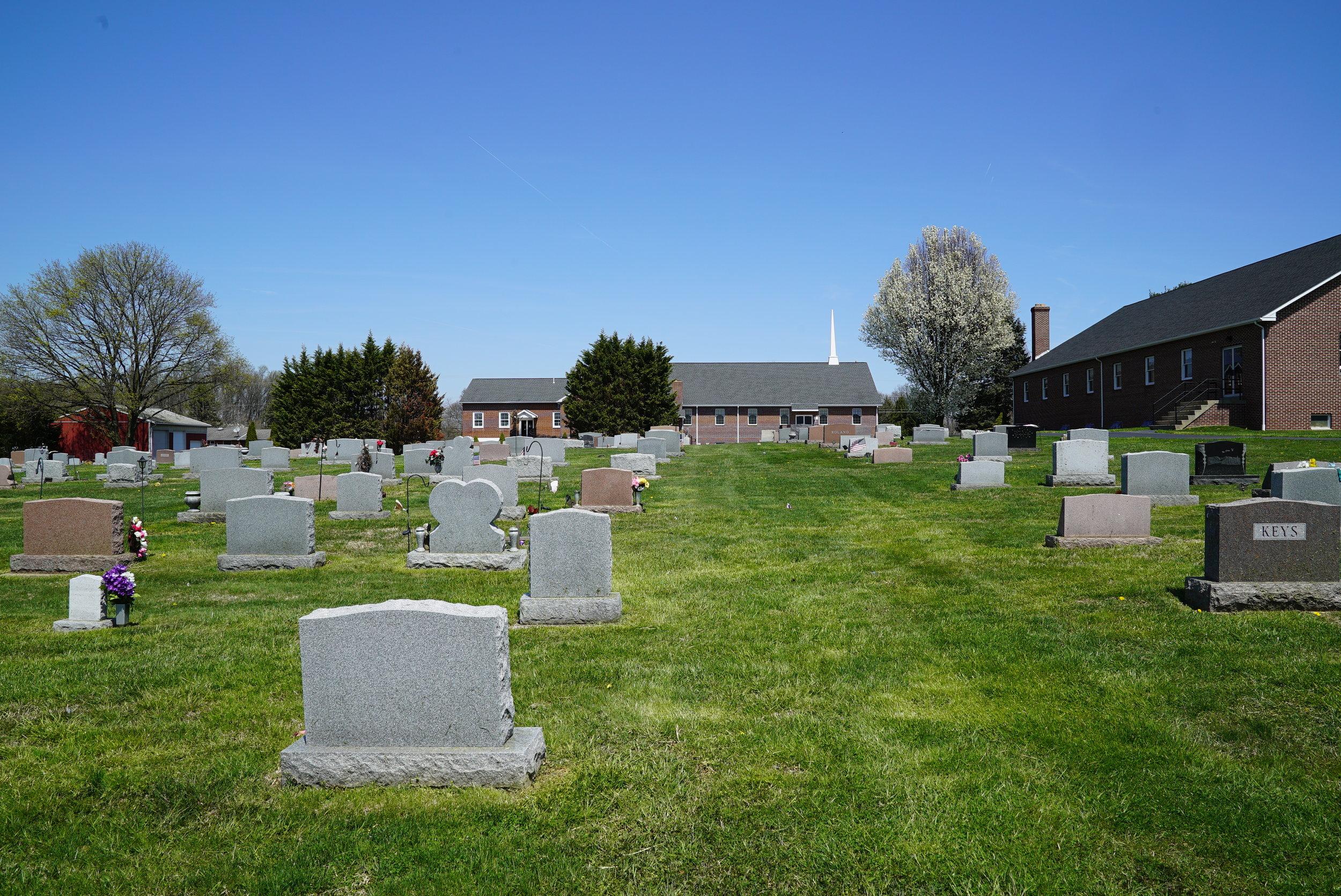 Nottingham Missionary Baptist Church Cemetery. Nottingham, Pennsylvania.