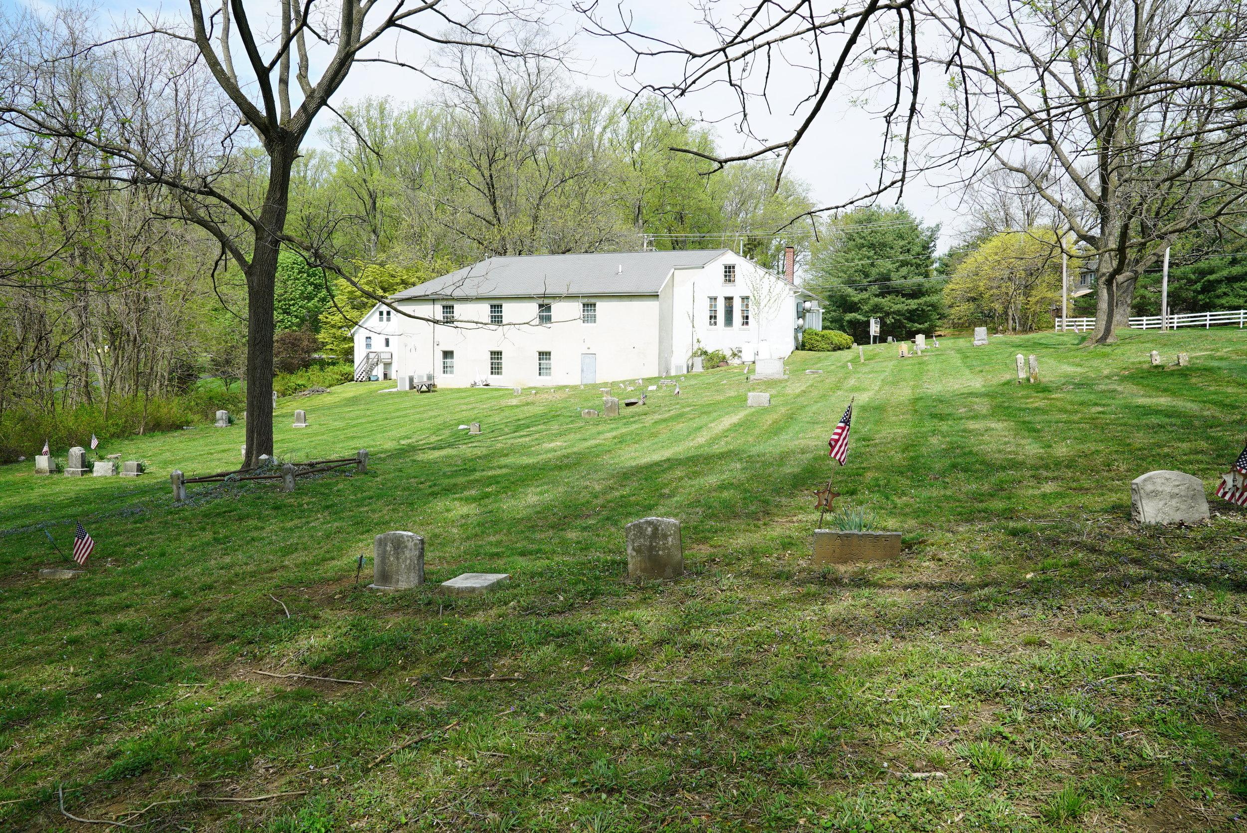 Thornbury African Methodist Episcopal Church Cemetery. Glen Mills, Pennsylvania.
