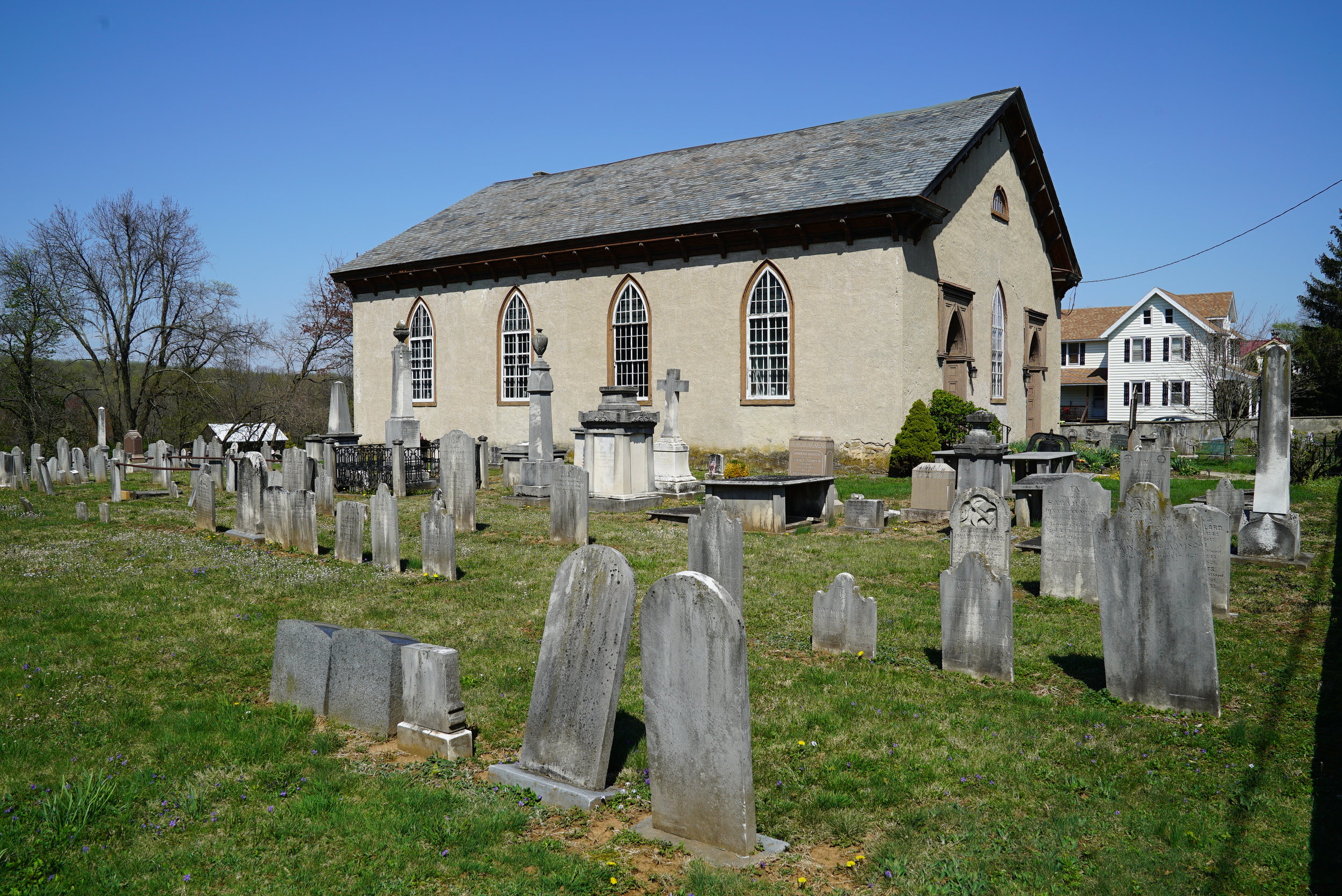 Old St. Mary's Episcopal Church Cemetery. Warwick Township, Pennsylvania.