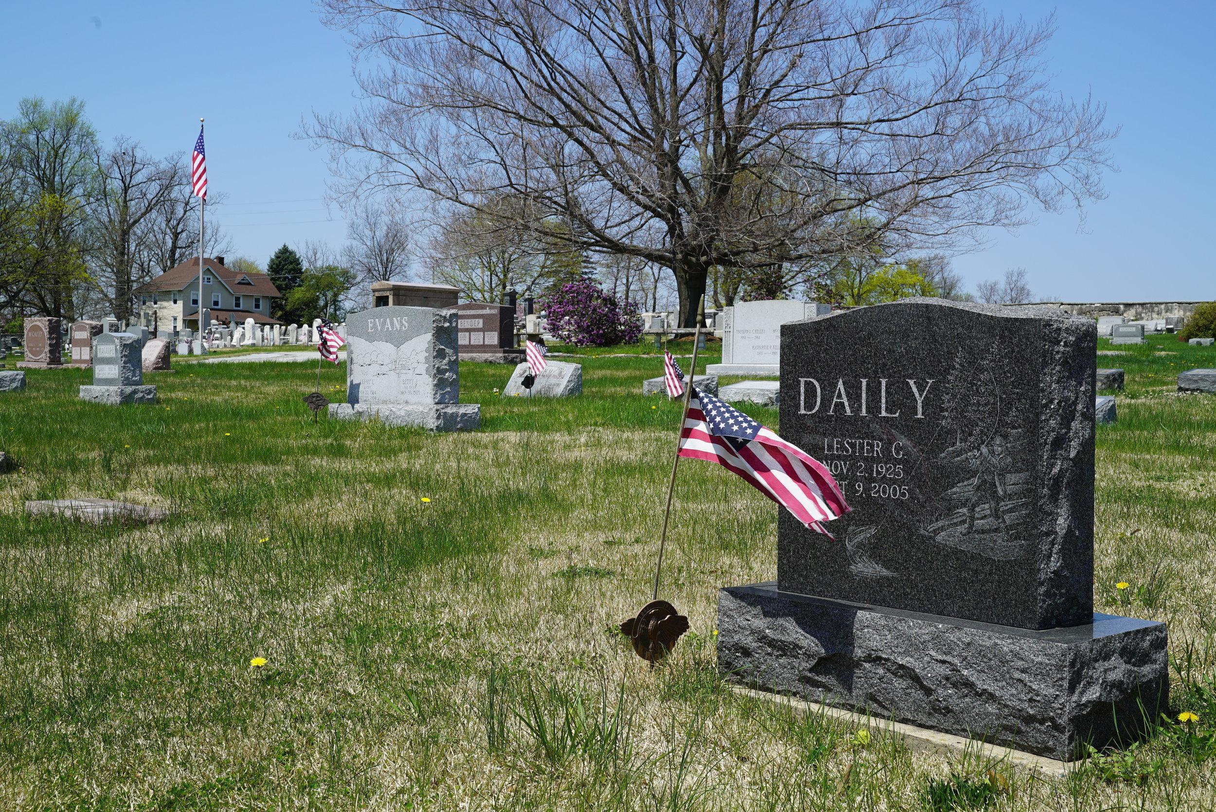St. Mark's Episcopal Church Cemetery. Honey Brook, Pennsylvania.