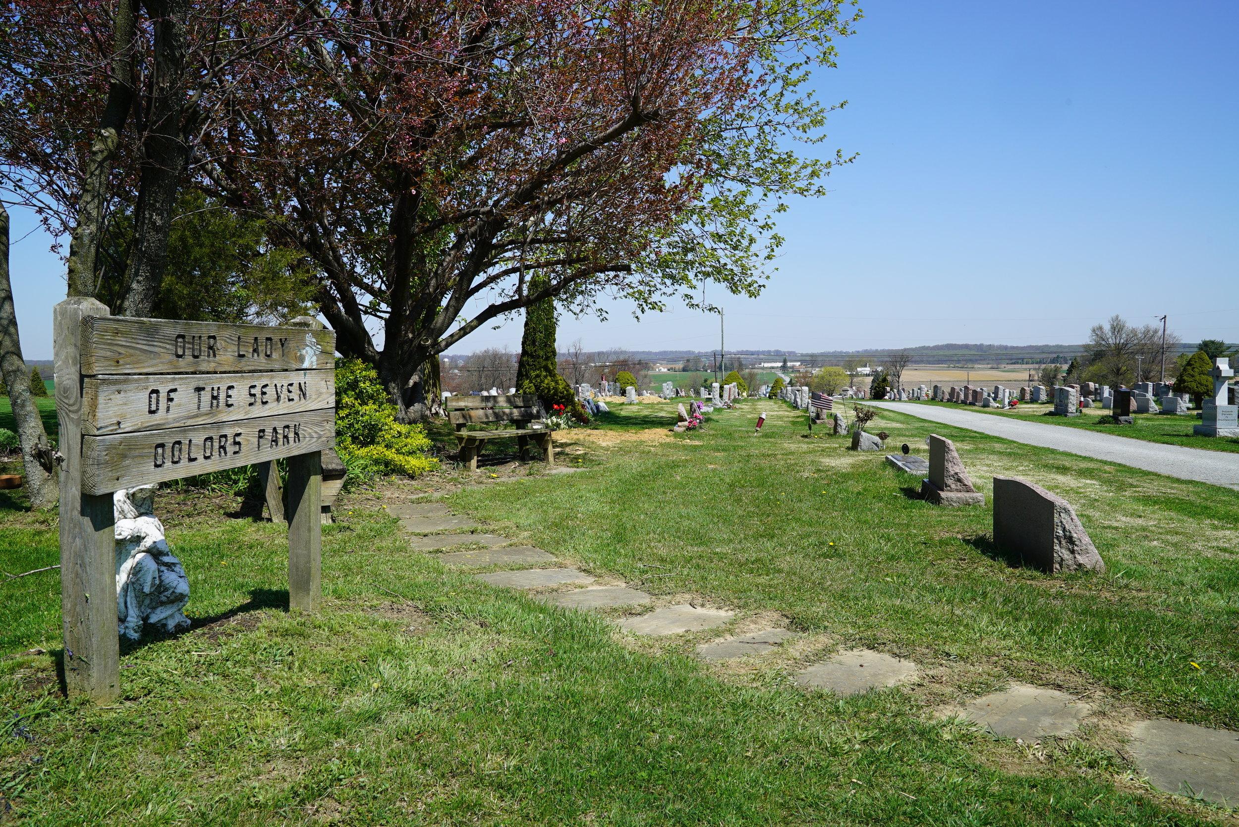 Our Lady Of Seven Dolors Cemetery. Parkesburg, Pennsylvania.