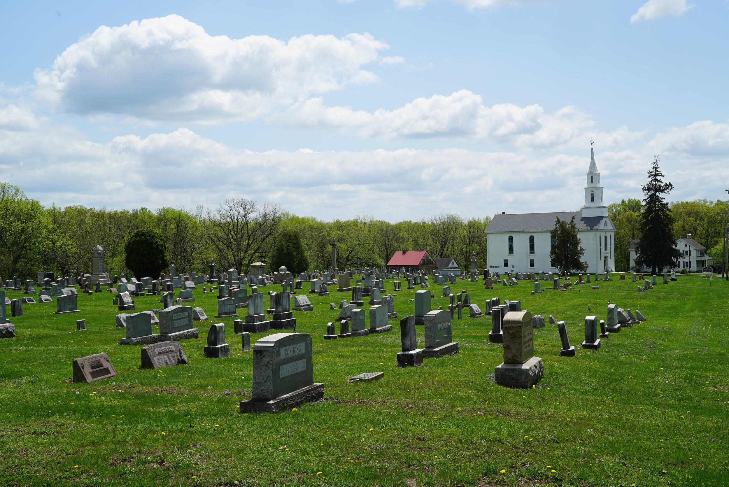 Old Goshenhoppen Cemetery. Harleysville, Pennsylvania area.