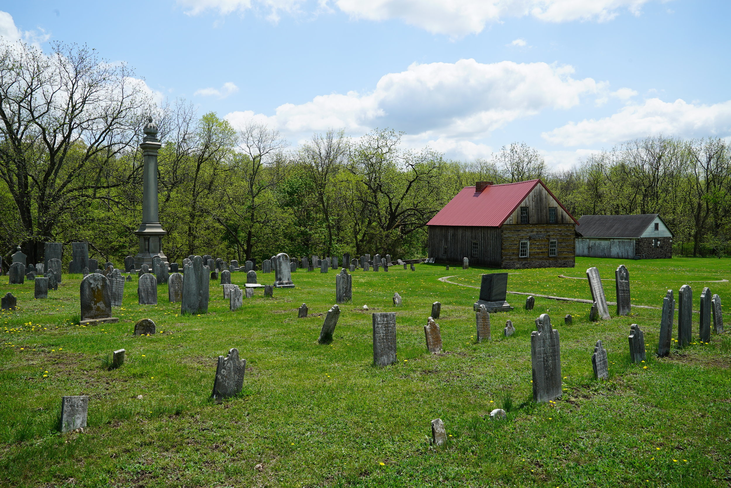 Old Goshenhoppen Cemetery. Harleysville, Pennsylvania. area