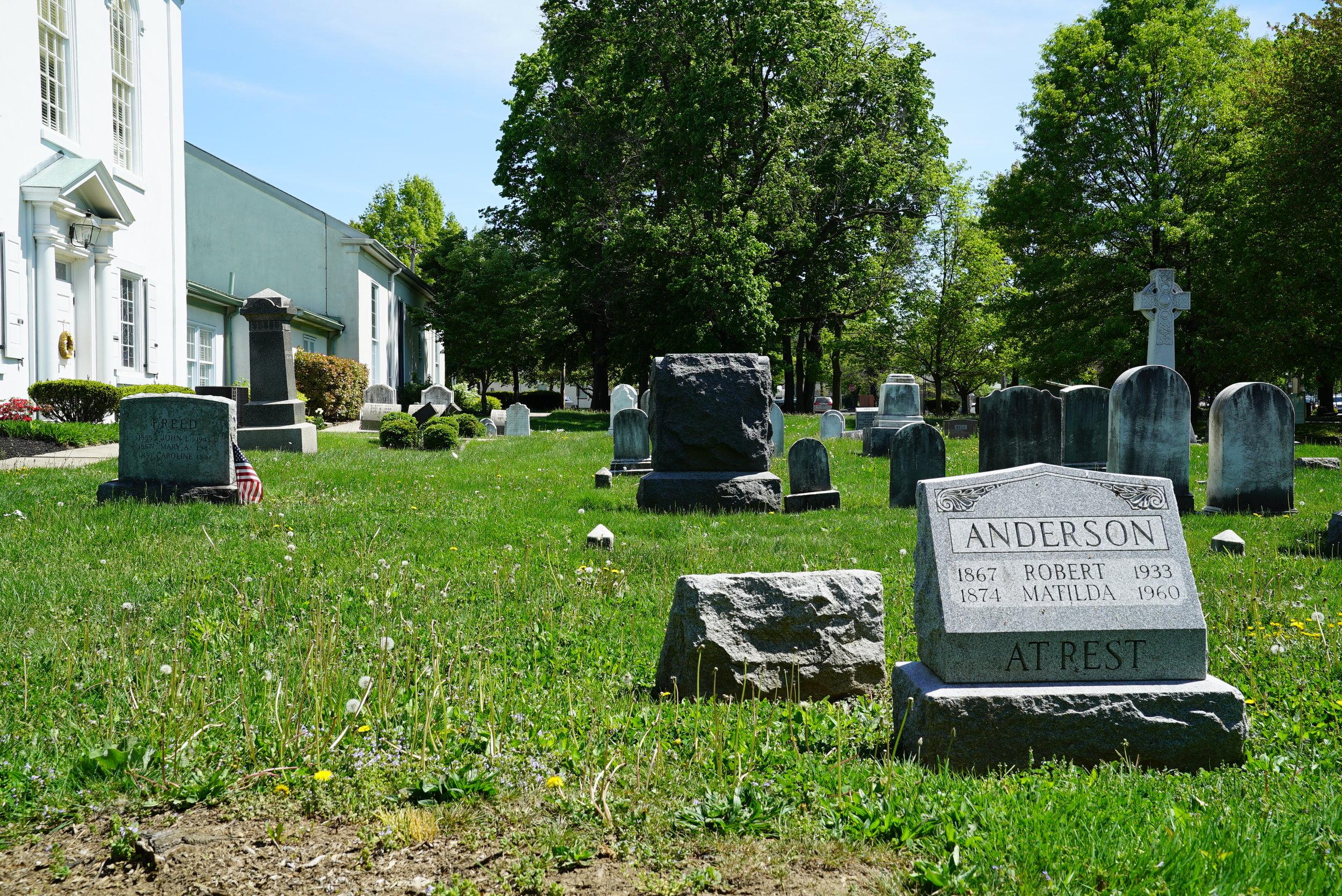 First Presbyterian Church In Springfield Cemetery. Flourtown, Pennsylvania.