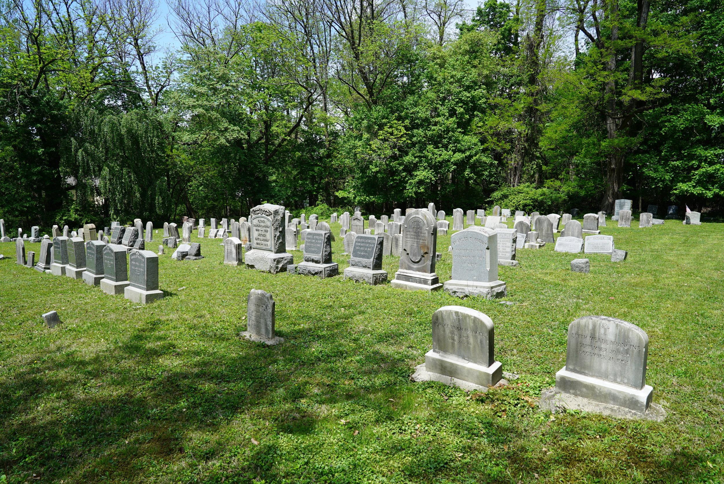 Mount Pleasant Baptist Church Cemetery. Ambler, Pennsylvania.