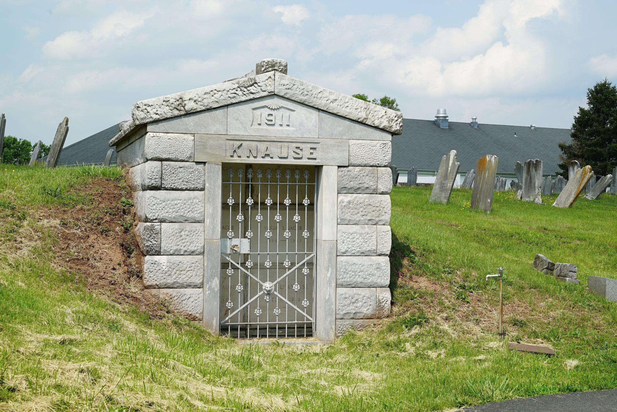 New Hanover Evangelical Lutheran Church Cemetery. Gilbertsville, Pennsylvania.