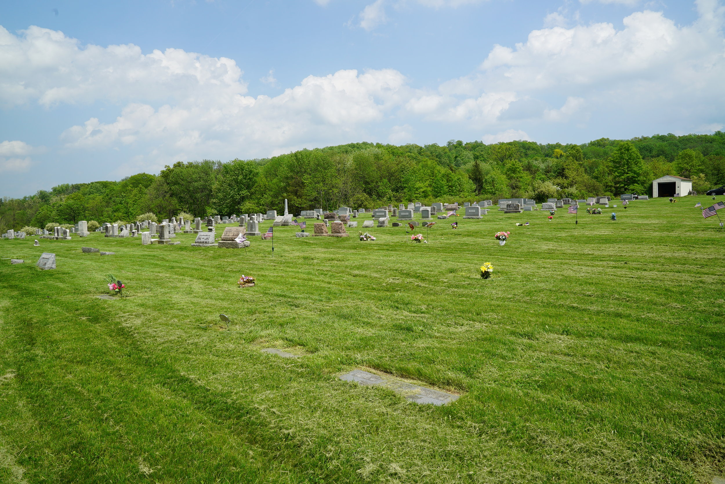 St. Paul's Lutheran Church Cemetery - Sassamansville, Pennsylvania.