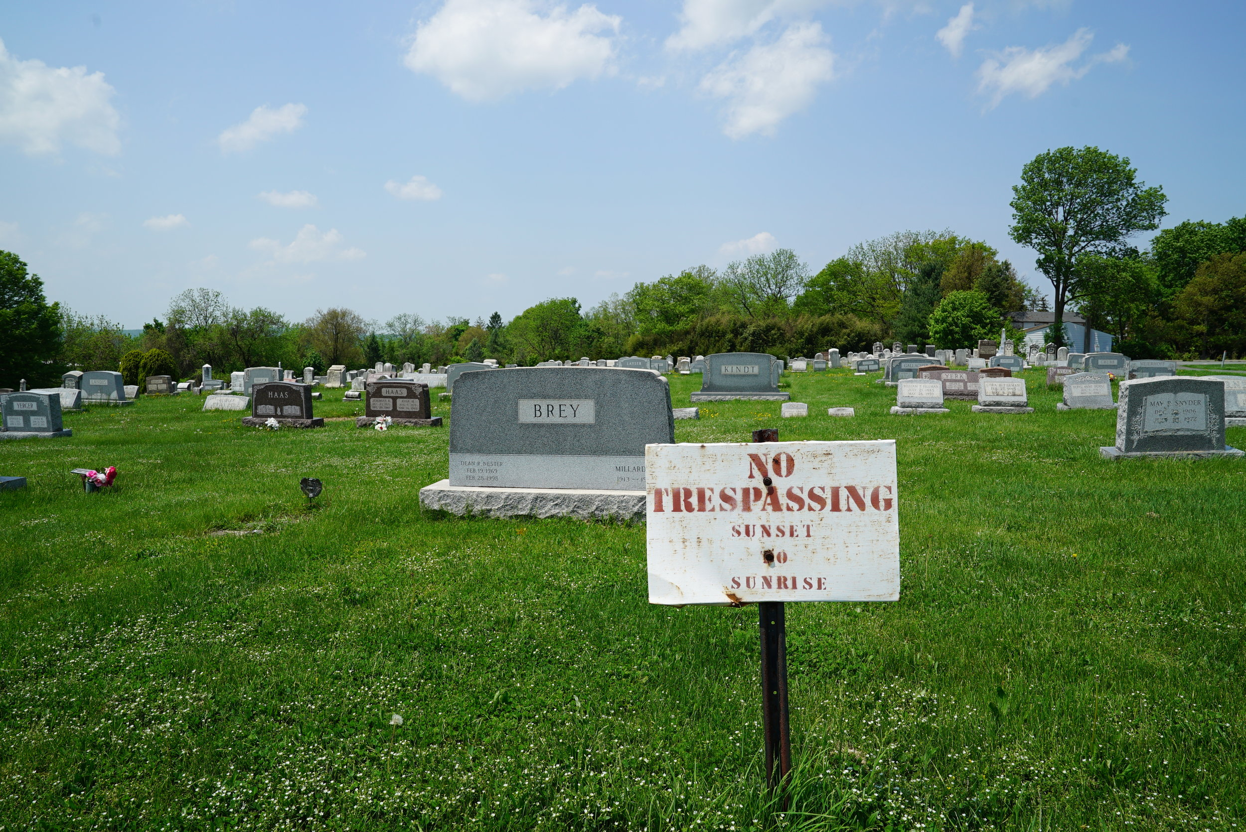 Pennsburg United Church of Christ Cemetery. Pennsburg, Pennsylvania.