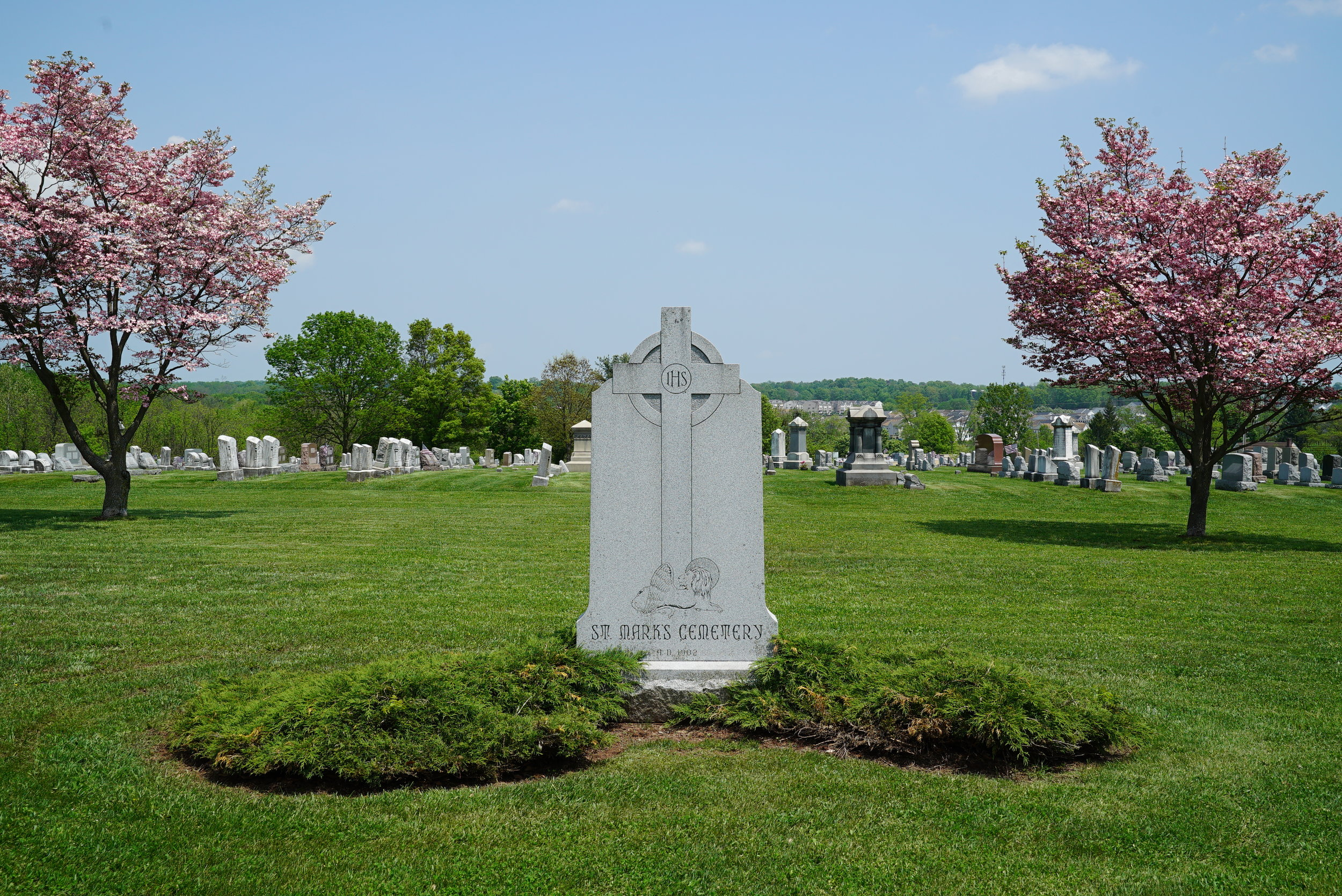 St. Mark's Lutheran Cemetery - East Greenville, Pennsylvania.