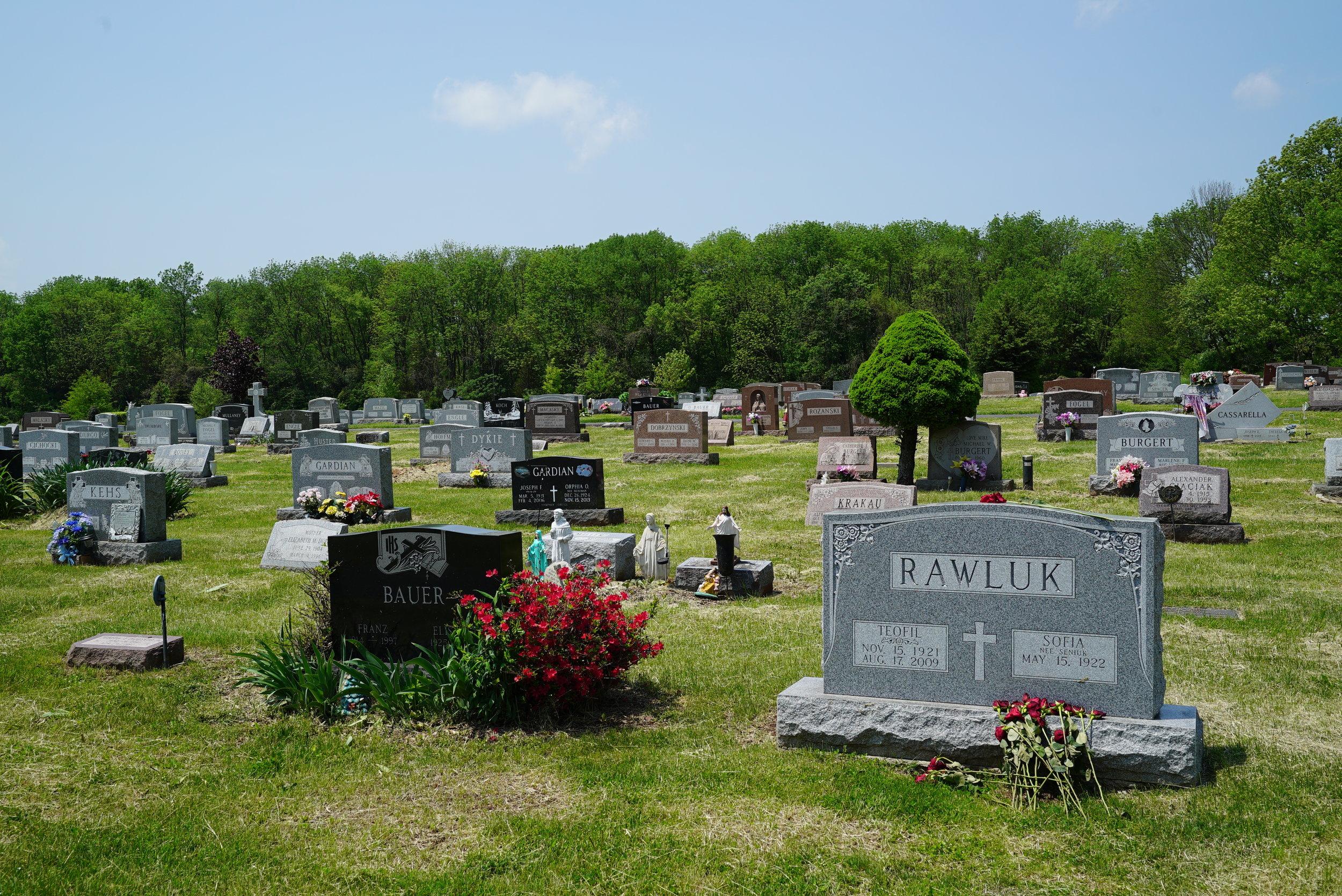 Holy Cross Cemetery - Pennsburg, Pennsylvania.