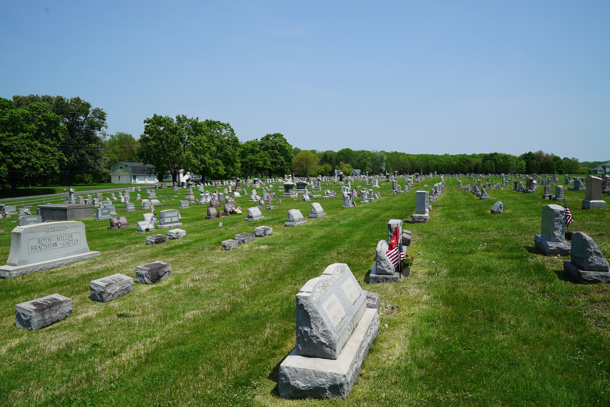 St. Paul's Lutheran Church Cemetery. Pennsburg area. Montgomery County, Pennsylvania.