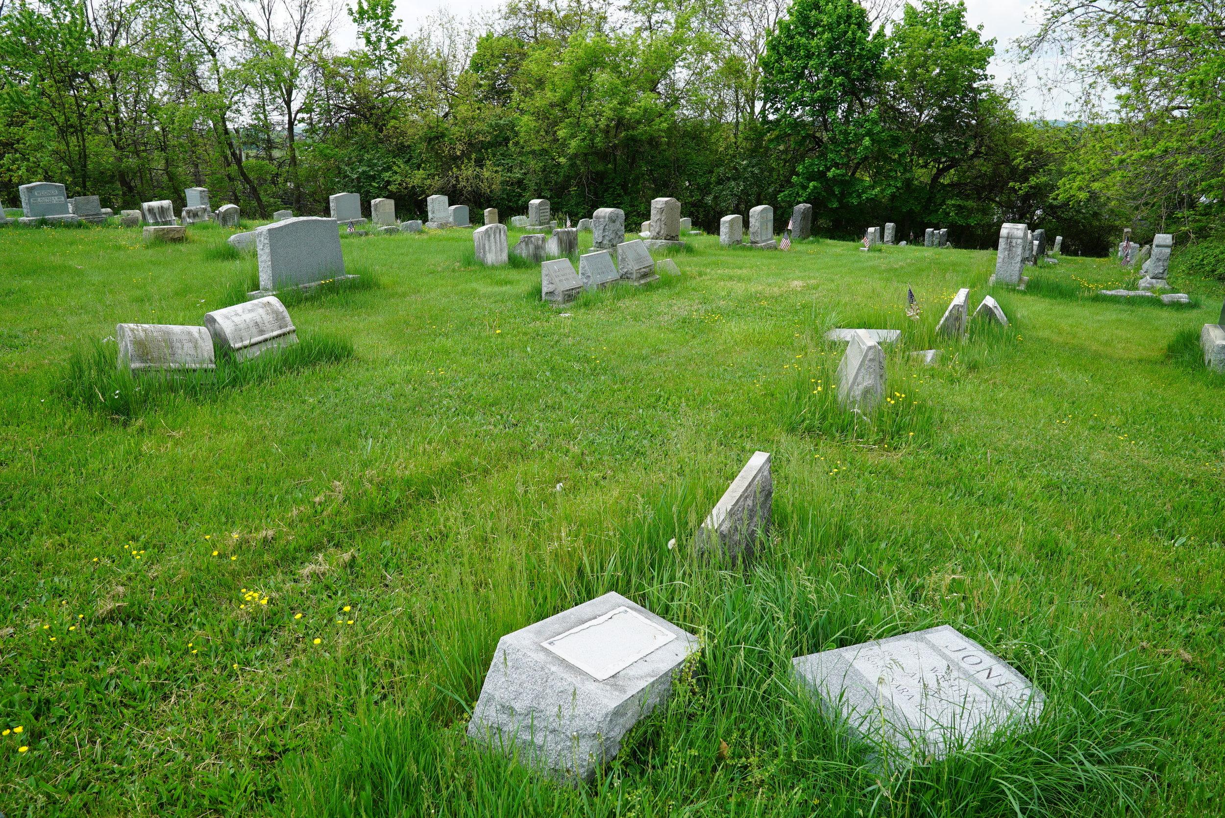Cold Point Baptist Church Cemetery - Plymouth Meeting, Pennsylvania.