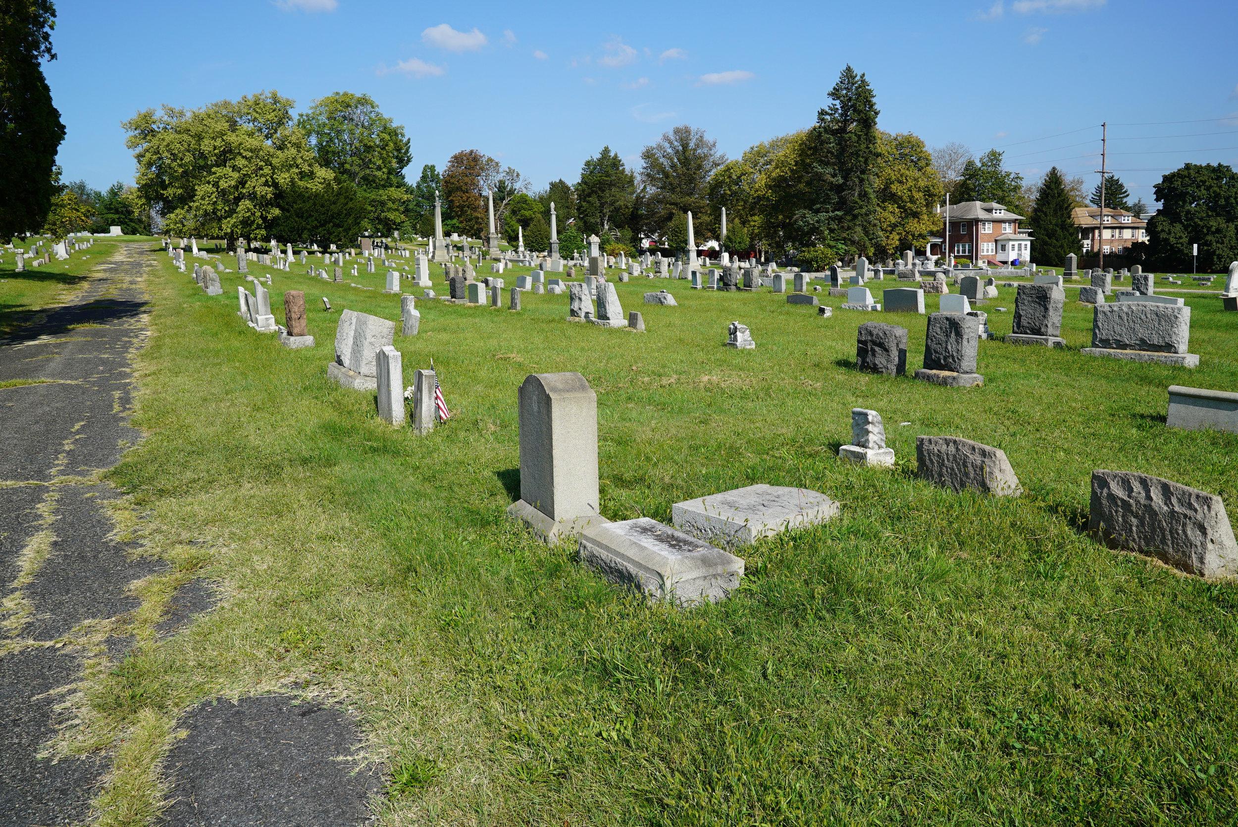 Edgewood Cemetery - Pottstown, Pennsylvania.
