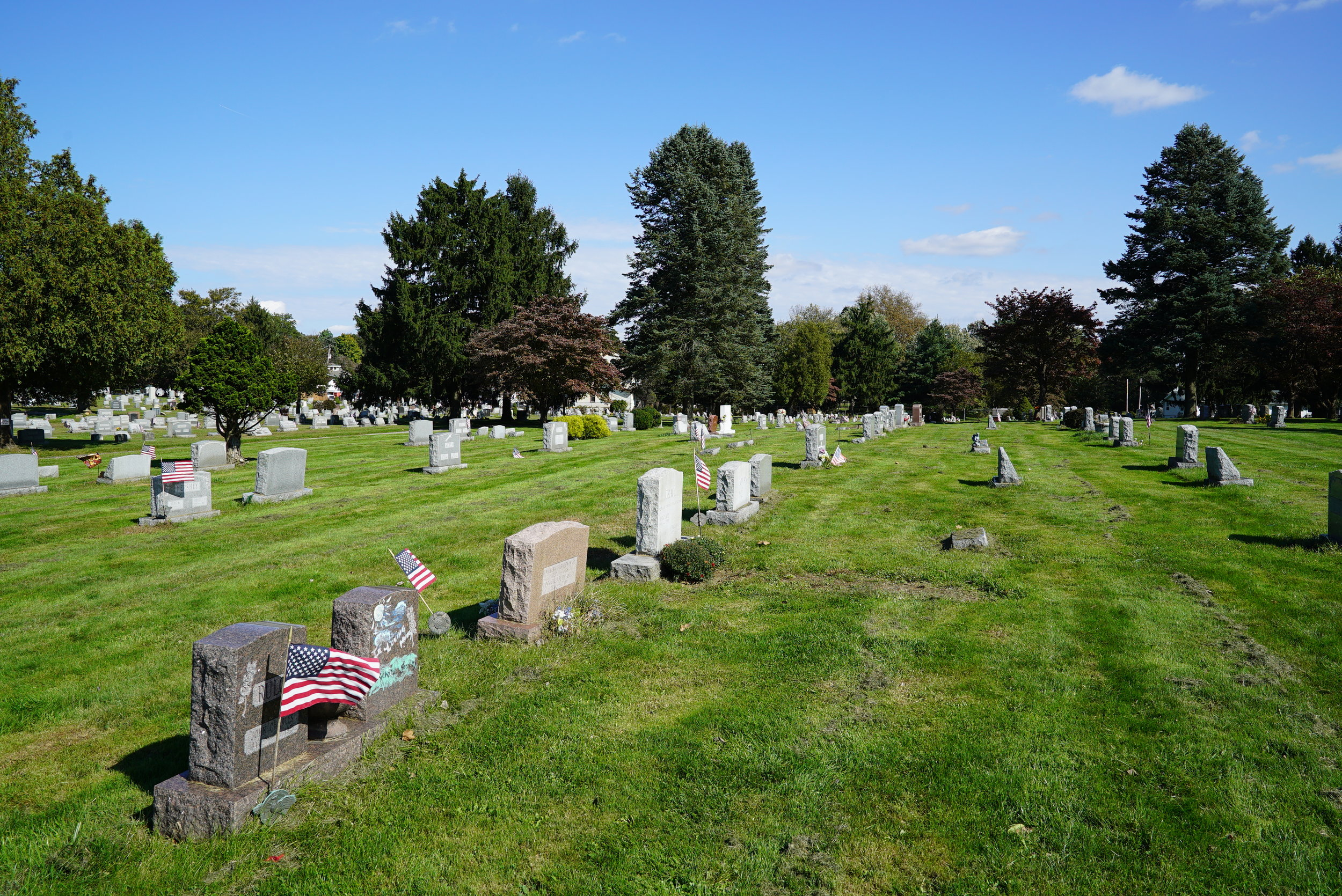 Green Mount Cemetery - West Chester, Pennsylvania. October 22, 2018.