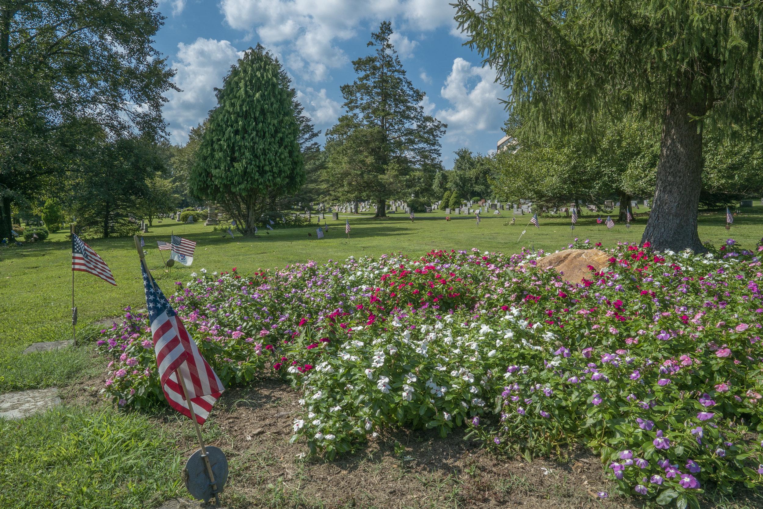 Media Cemetery, Delaware County, Pennsylvania. August 2019.