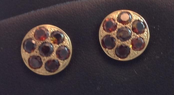 14kt yellow gold Savannah Tourmaline Earrings