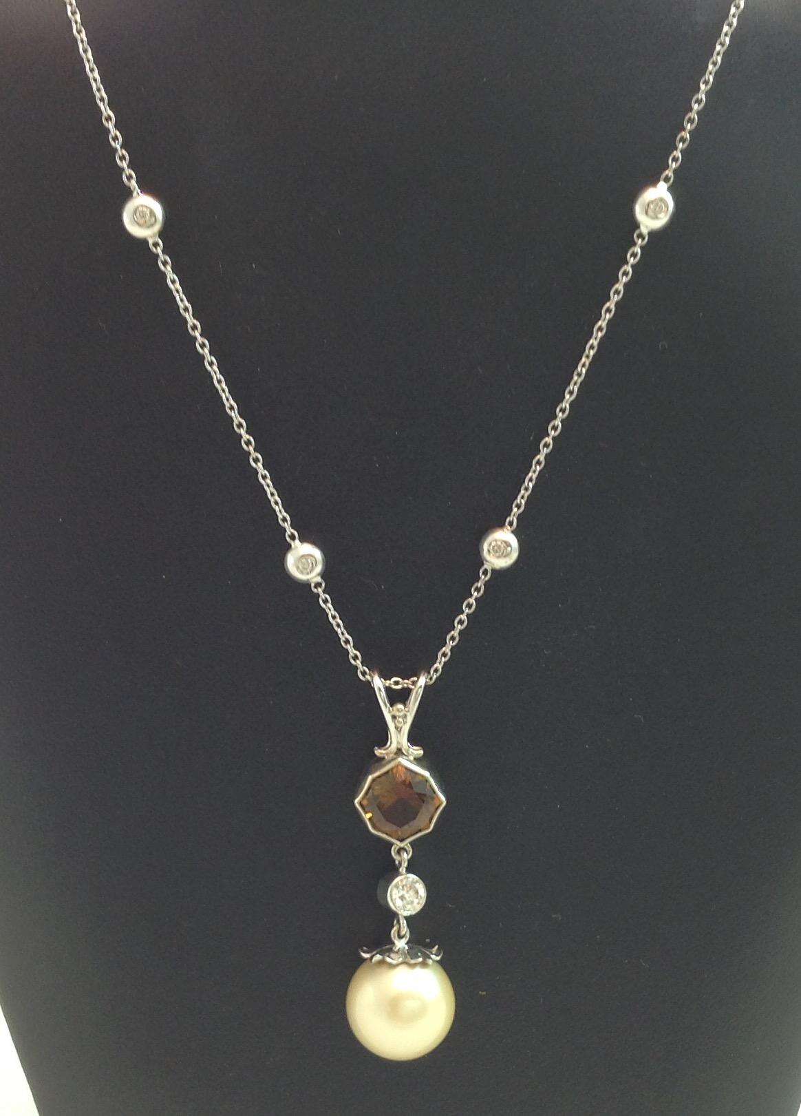 South Seas Pearl Pendant & Chain