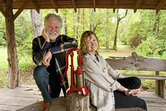 Chuck Leavell & Wife Rose Lane On Their Tree Farm.