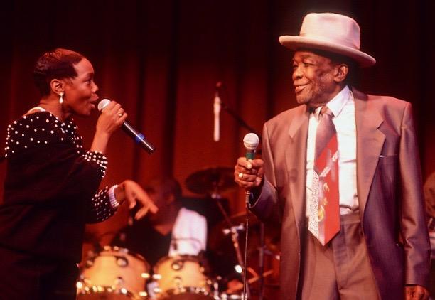 Zakiya with her father, John Lee Hooker