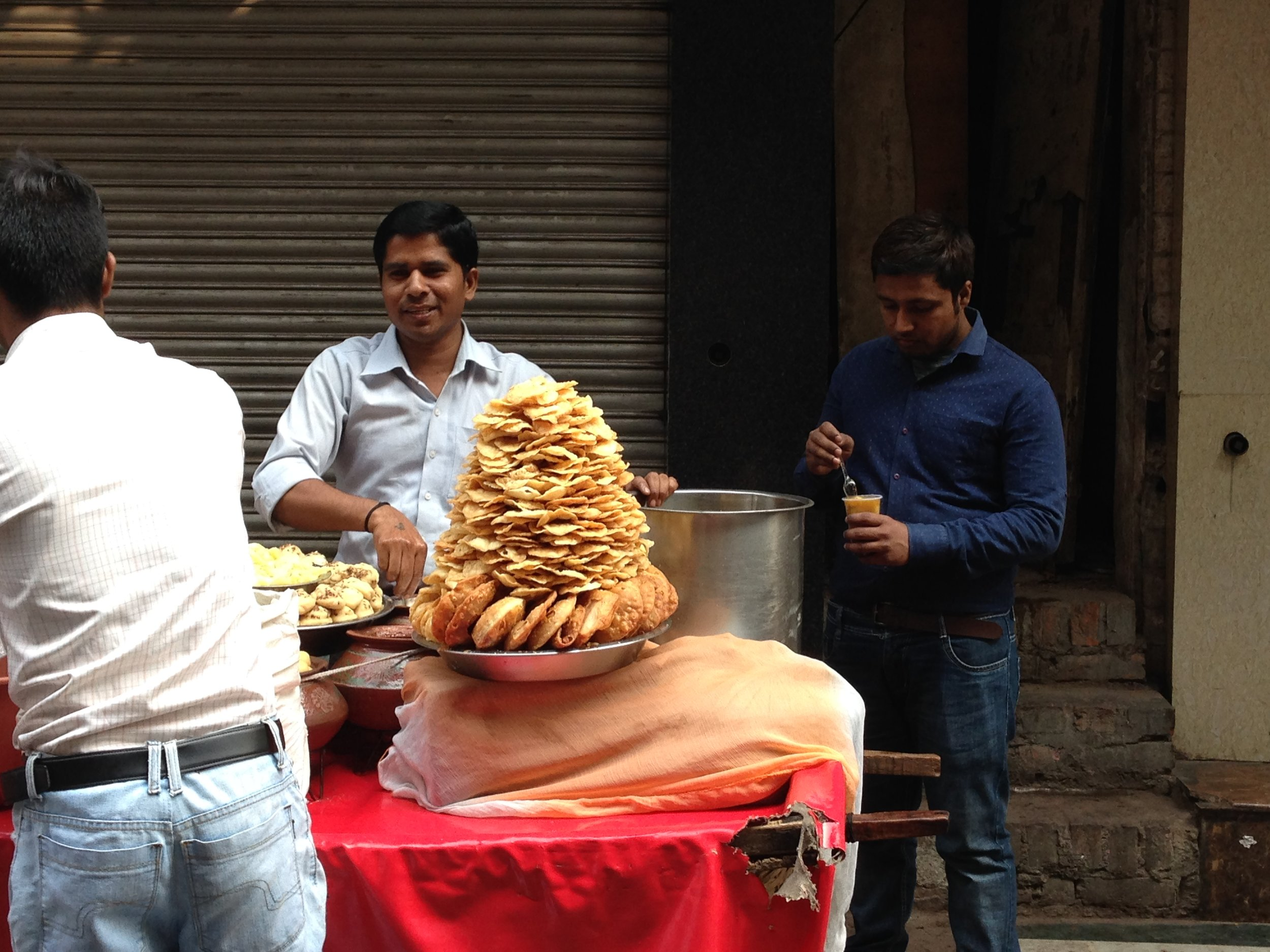 Talin Spring travel Spring Finn and Co Old Delhi food vendors India Delhi street photography street food