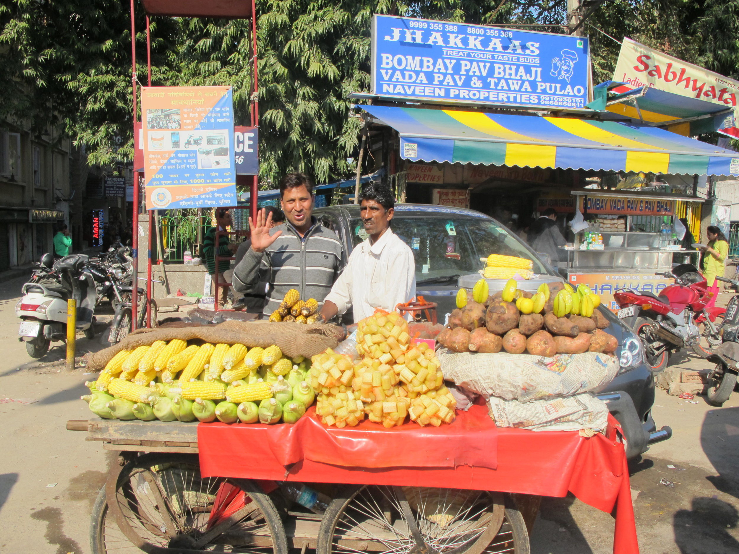 Talin Spring travel Spring Finn and Co Old Delhi food vendors India Delhi street photography street food