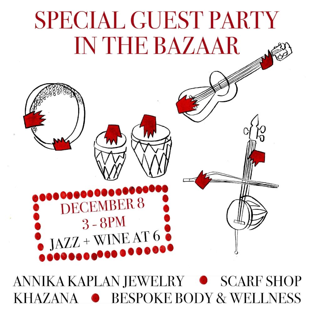 Talin's Bazaar Special Guest Party in the Bazaar