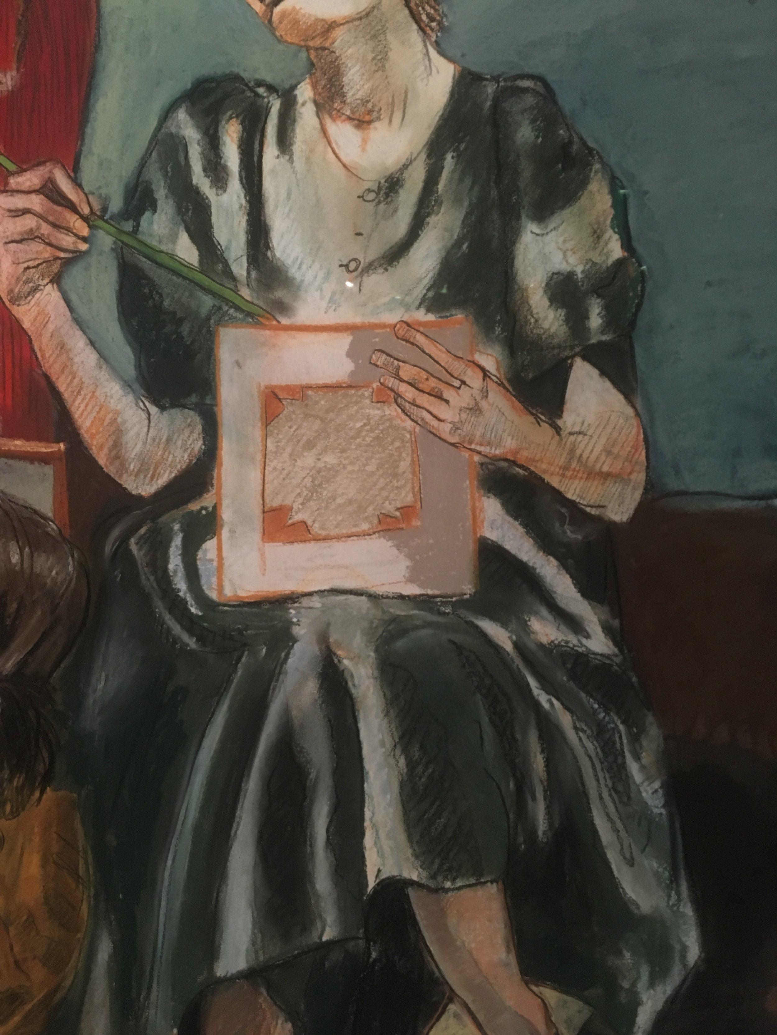 Paula Rego, Paula Rego exhibition, Paula Rego Museum, portugese female artist, pastels, monumental drawings, paula rego at tate