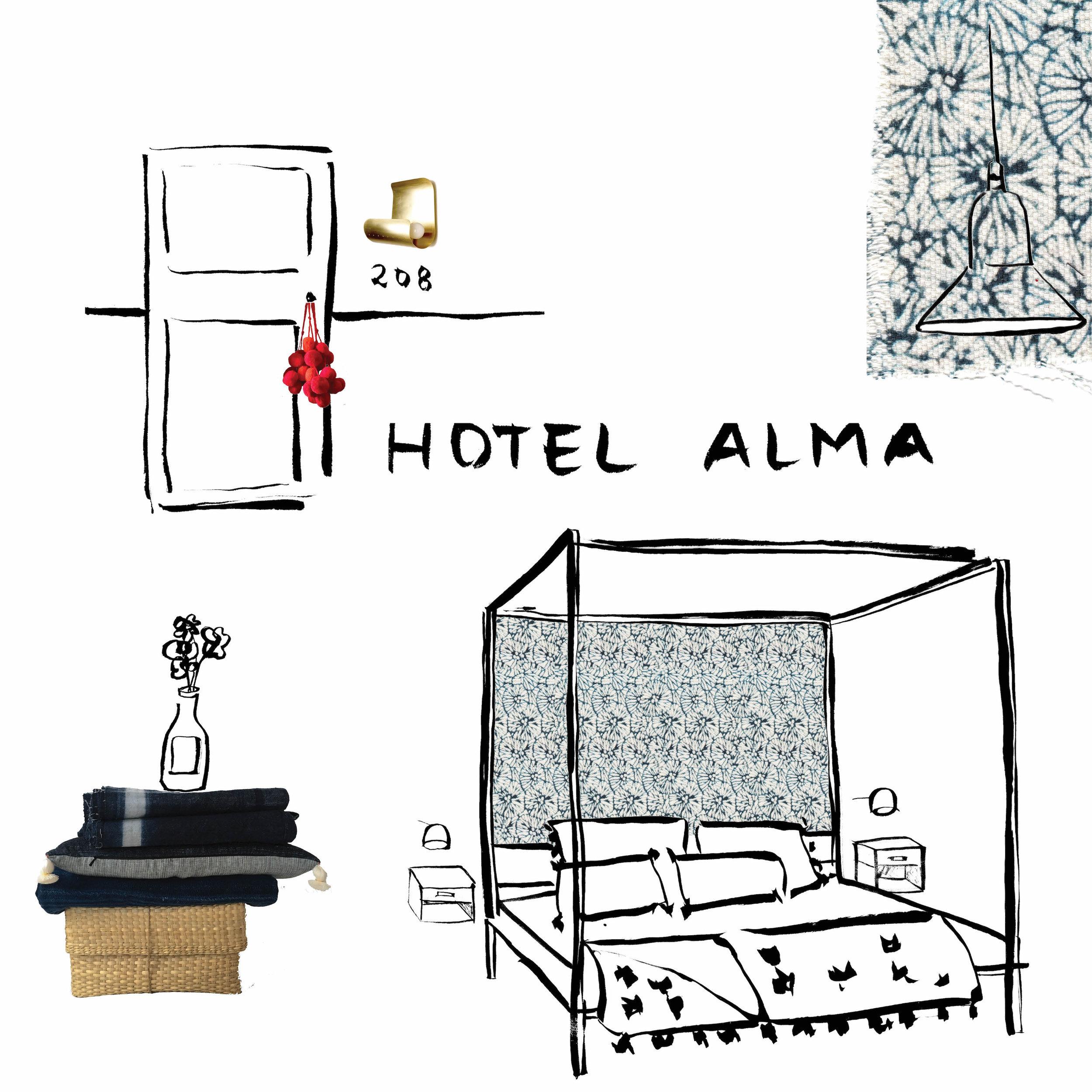 alma cafe restaurant hotel minneapolis design by talin spring