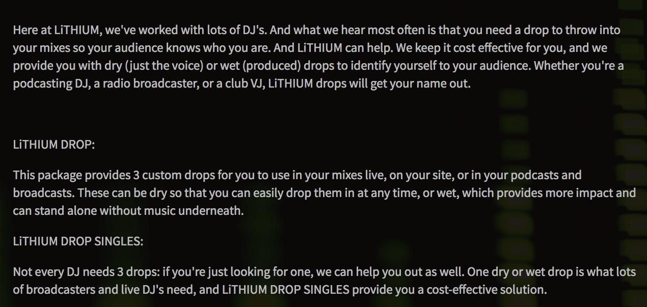 Copy of DJ Offerings