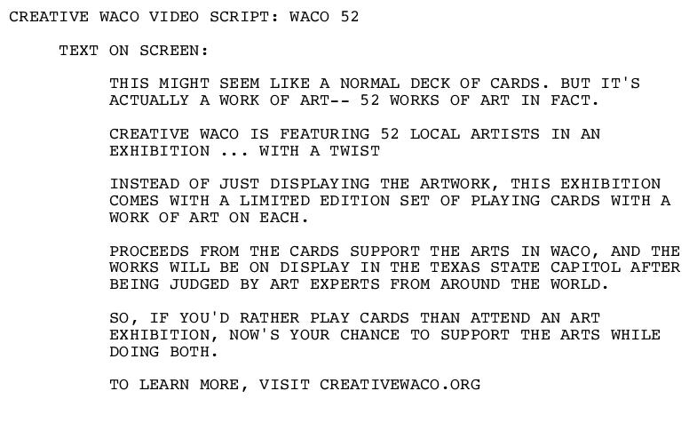 Video Script Waco 52.PNG
