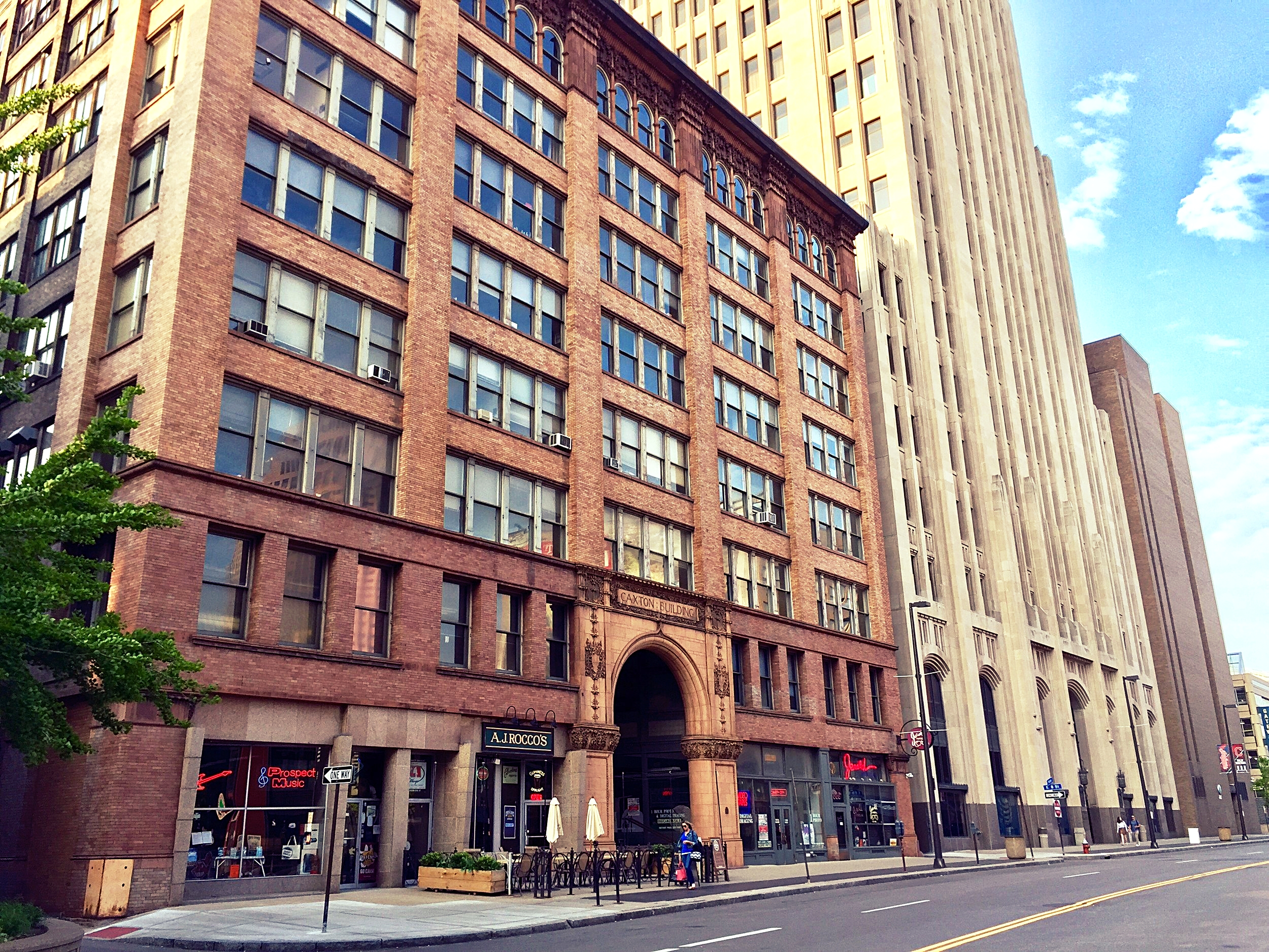 caxton building - downtown cleveland office spaces