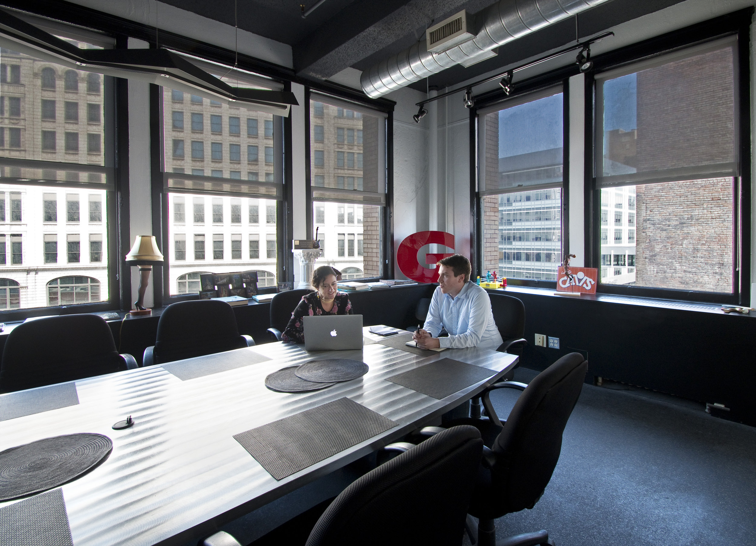 caxton building office conference room meeting