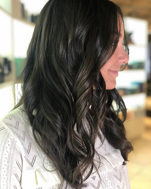 ▪️dark chocolate▪️ Stylist: Julia.  #goodhair #brunette #annarborsalon #hair #hairstyles #haircut #annarbor #briarwoodmall #hairinspo #michigansalon #hairenvy #darkhair #michiganstylist #a2hair #hairstylist #goals #healthyhair #annarborcolorist #annarborstylist #hairgoals #hairoftheday #newhair #richcolor #hairstyle #inspiration