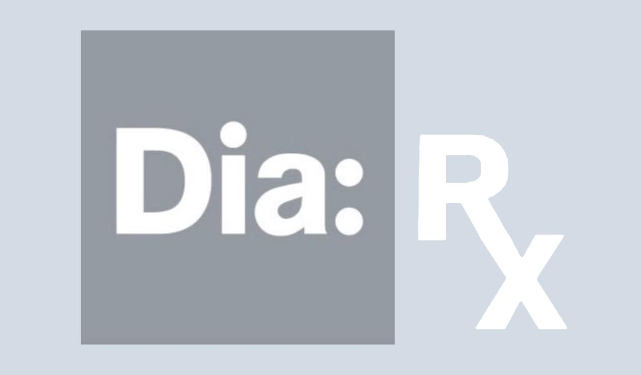 Investigate Everything     Collaged: Dia Logo x 'Rx' text. Archival Digital Print.  2018 3:5