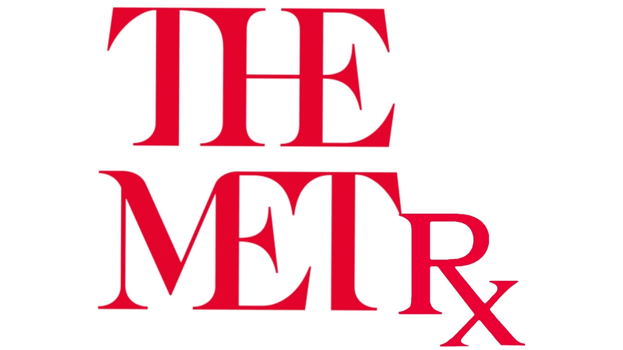 THE METRX Met logo & text digital collage. 2019 16:9