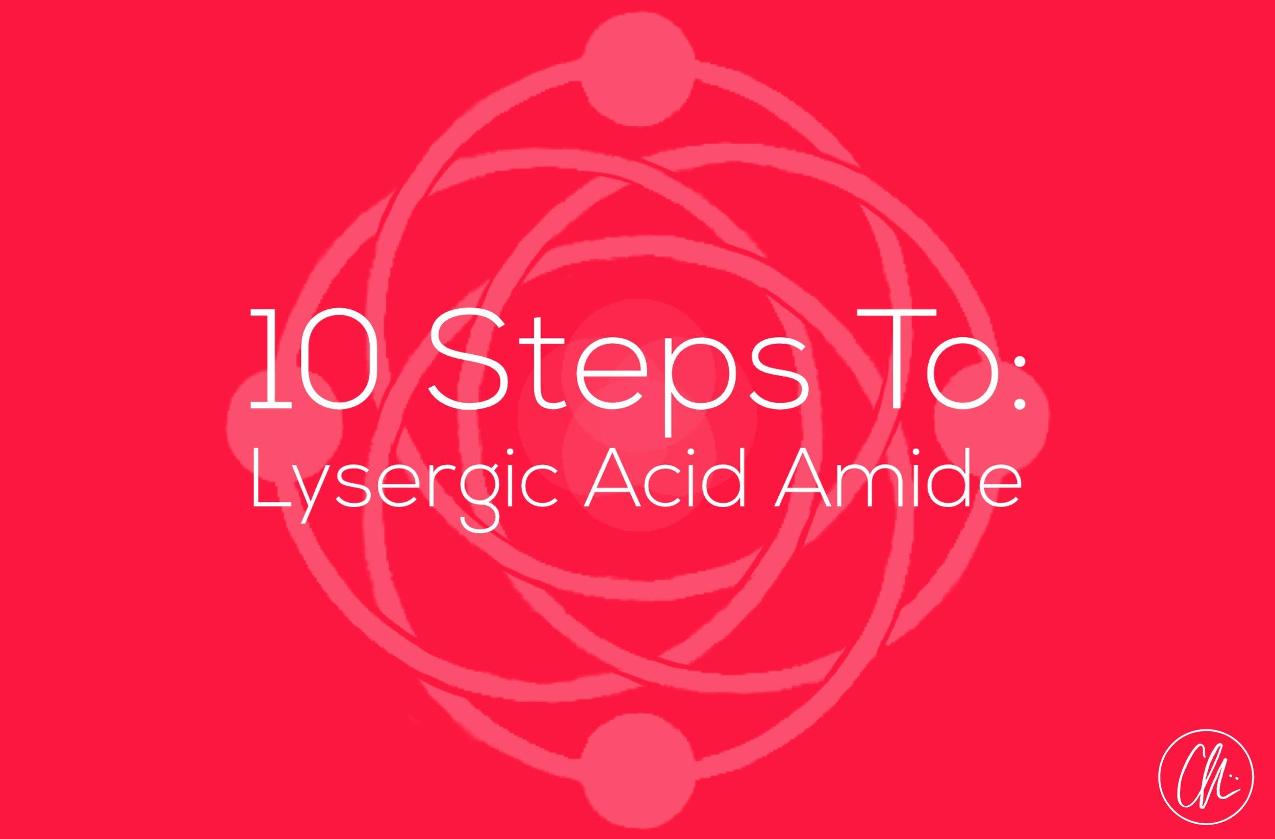LYSERGIC ACID AMIDE   *coming soon