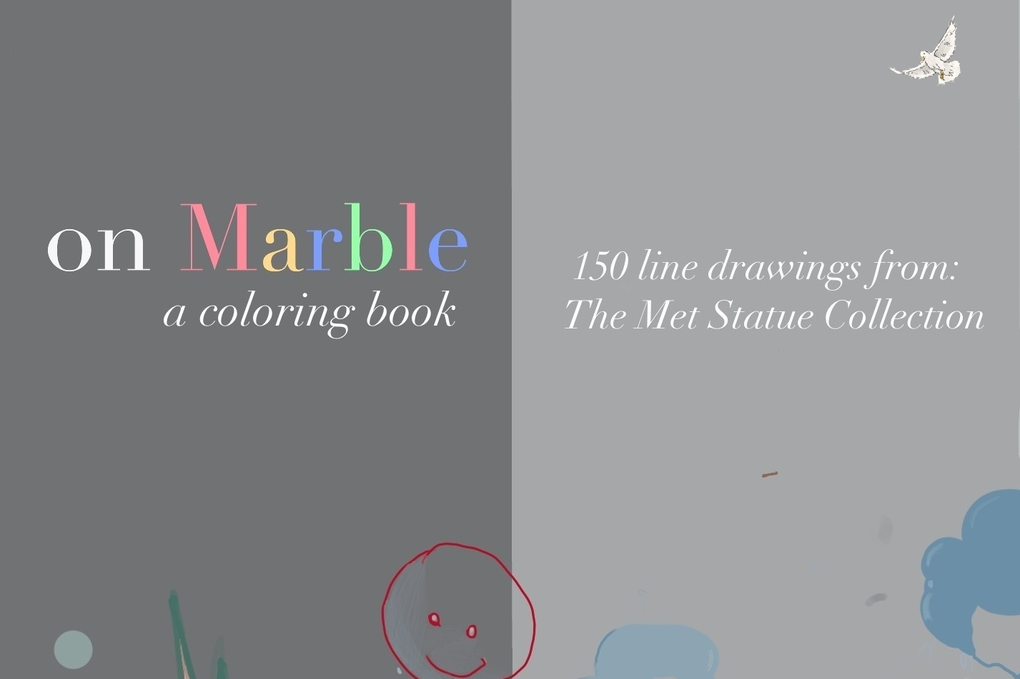 ON MARBLE :  a coloring book
