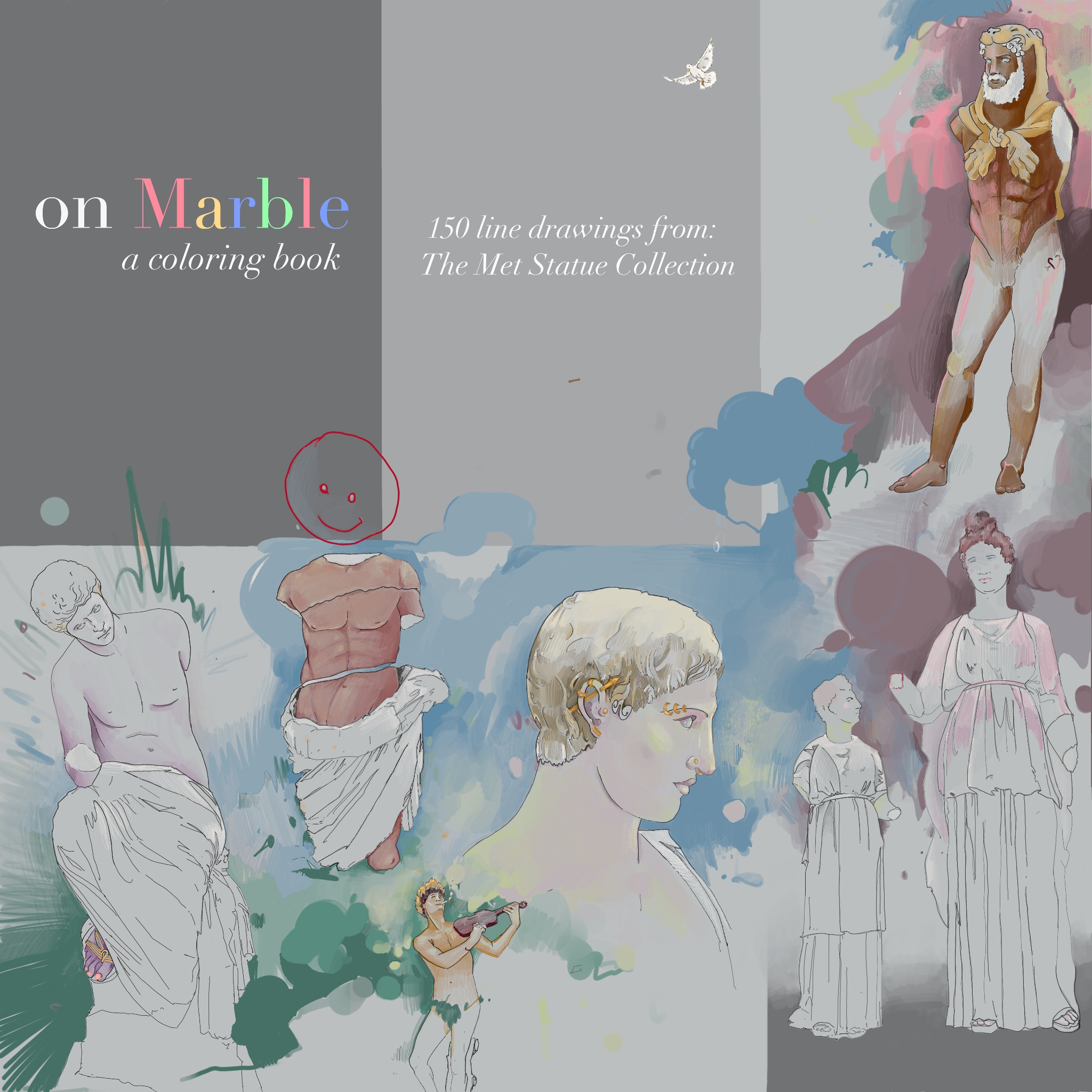 ON MARBLE:  a coloring book   Vote: at   www.metmuseum.com