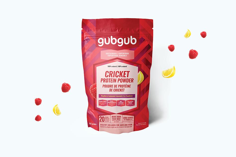 gubgub Cricket Protein Packaging